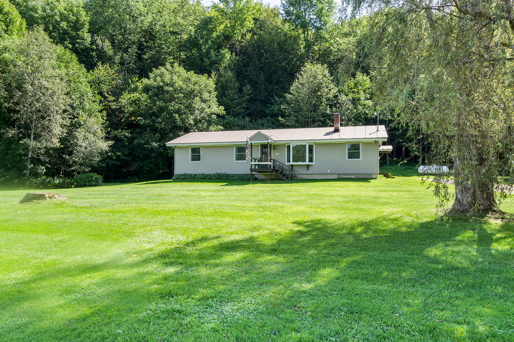 Single Family Homes for Sale at Updated Ranch 6418 Vermont Route 107 Stockbridge, Vermont 05772 United States