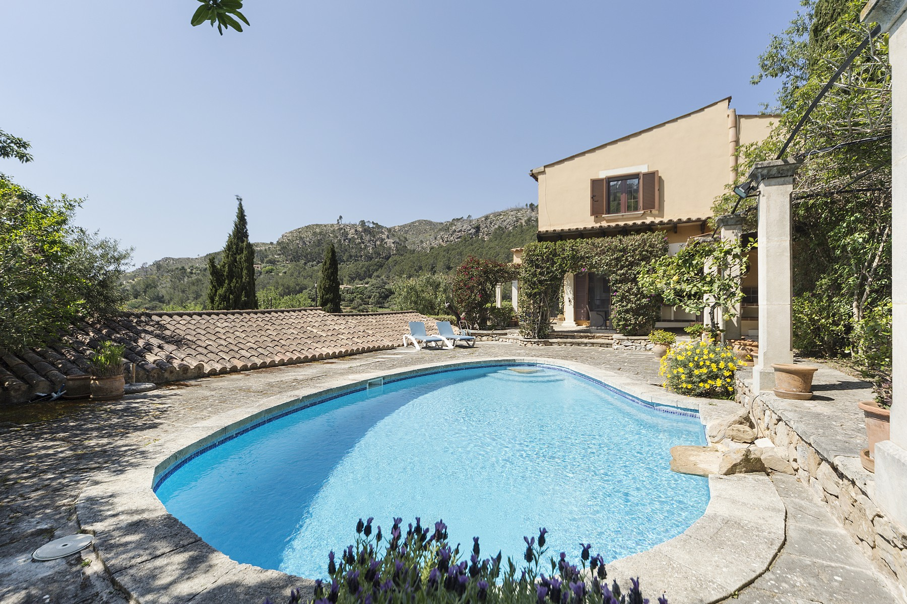 Single Family Home for Sale at Rustic Country Estate for sale in Andratx Sa Coma, Mallorca, Spain