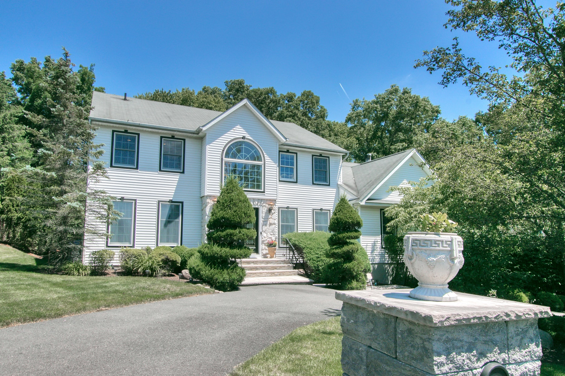 Single Family Homes for Sale at Magnificent Center Hall Colonial 11 Lowell Drive New City, New York 10956 United States