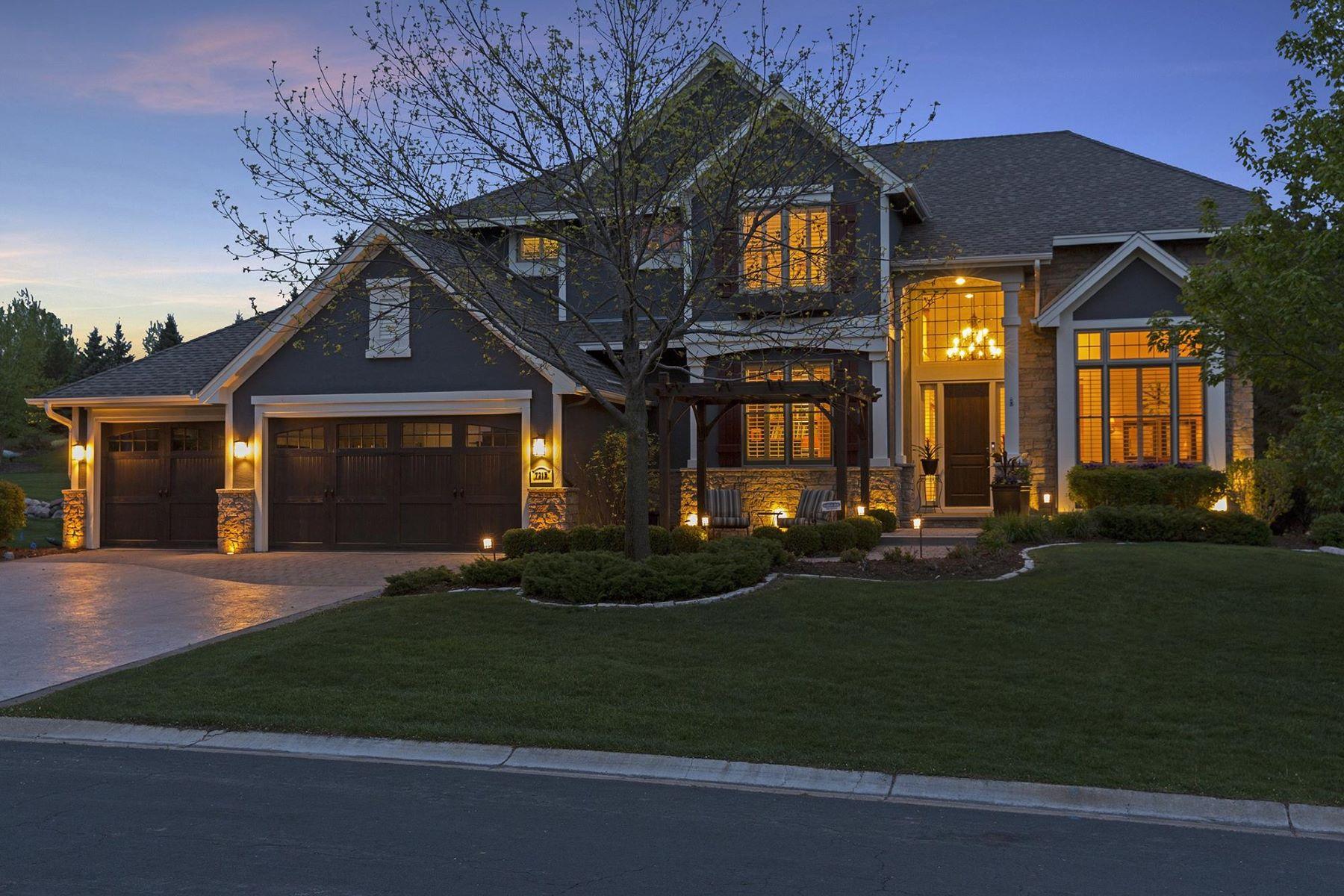 Casa para uma família para Venda às 7215 Lodgepole Pt. 7215 Lodgepole Point Chanhassen, Minnesota, 55317 Estados Unidos