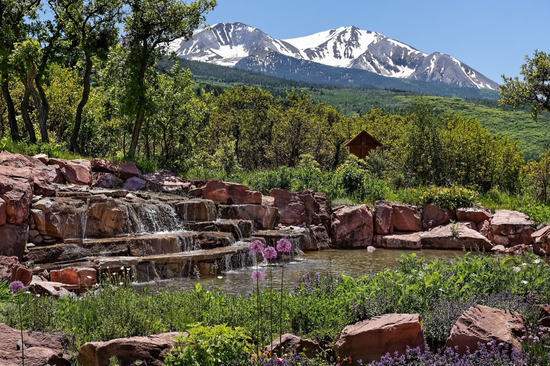 Single Family Homes for Sale at Sopris Mountain Ranch Estate 150 Spring Creek Road Basalt, Colorado 81621 United States
