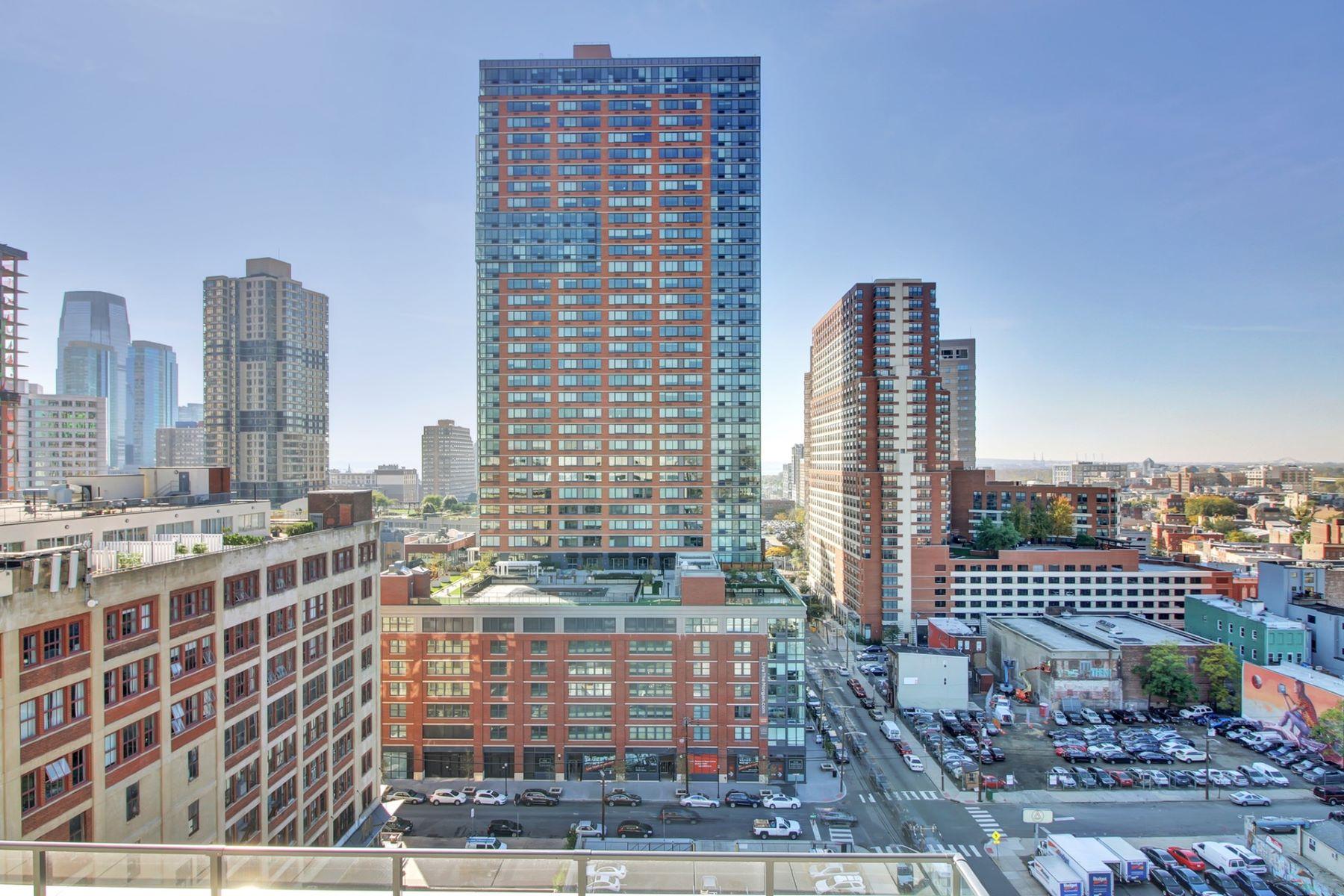 Appartement en copropriété pour l Vente à The Oakman 160 1st Street #1013 Jersey City, New Jersey 07302 États-Unis