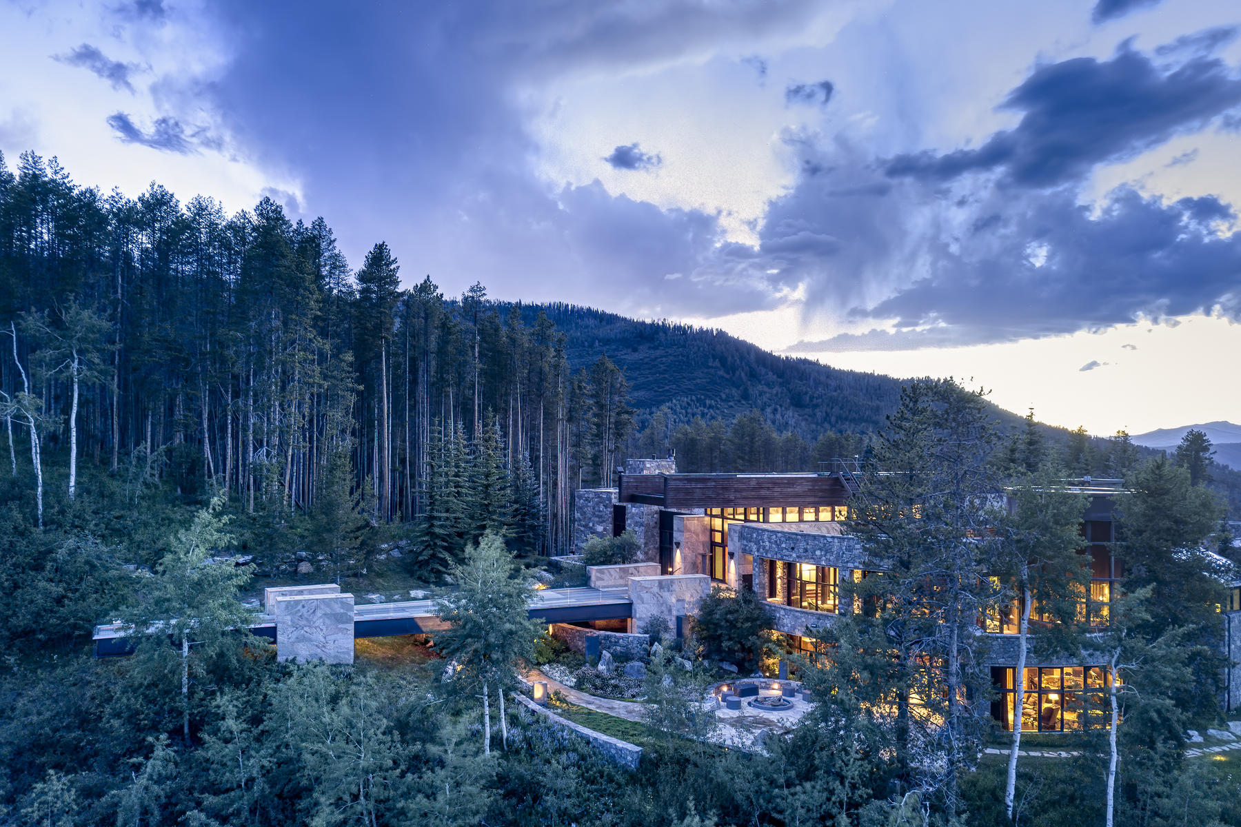 Single Family Homes للـ Sale في Casteel Creek Retreat 25 Casteel Creek Road, Edwards, Colorado 81632 United States