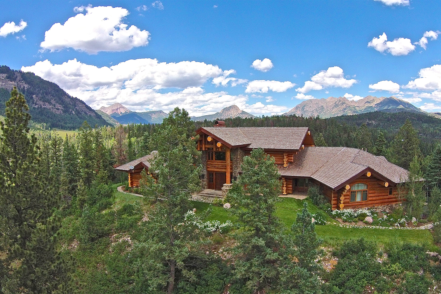 Maison unifamiliale pour l Vente à Mountain View Estate 463 & 464 Pinnacle View Drive Durango, Colorado, 81301 États-Unis
