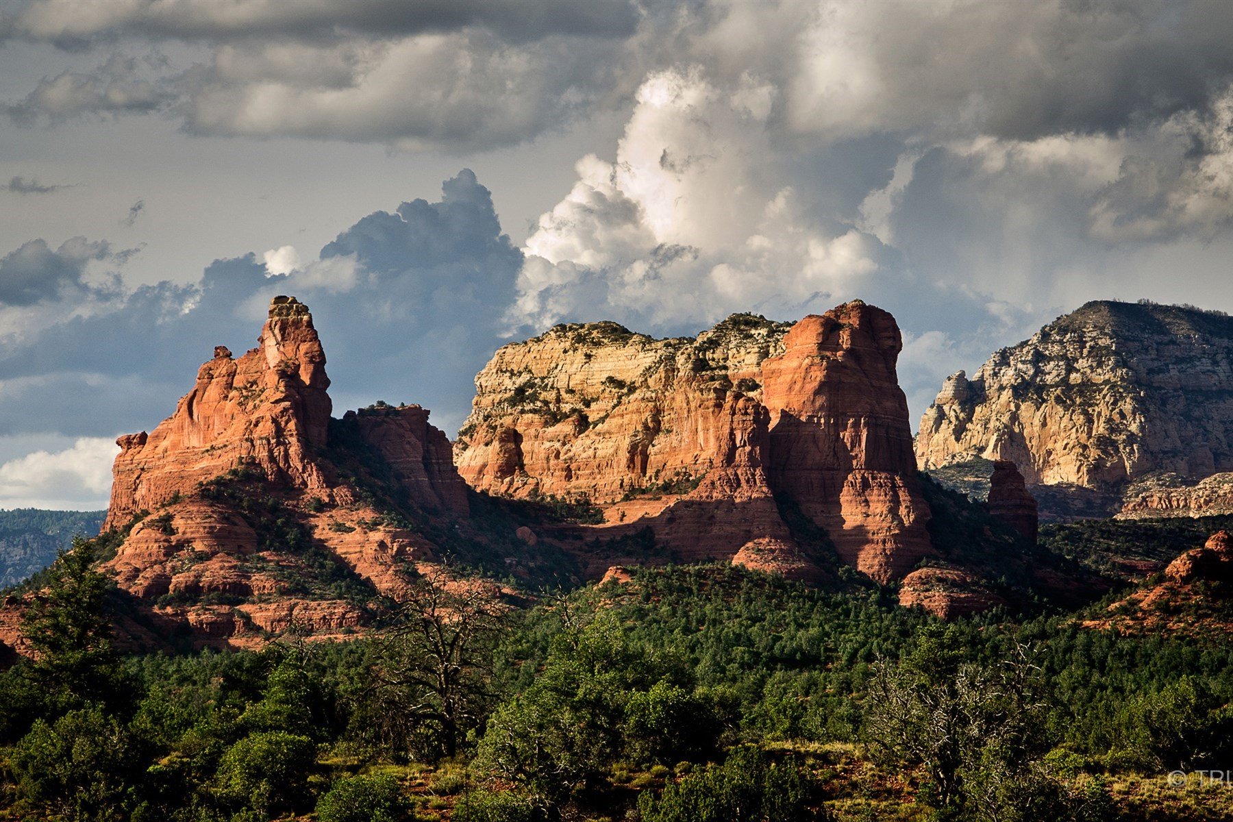 Land for Sale at Prime adjoining lots with outstanding views 35 & 41 Rue De La Rose Sedona, Arizona, 86336 United States