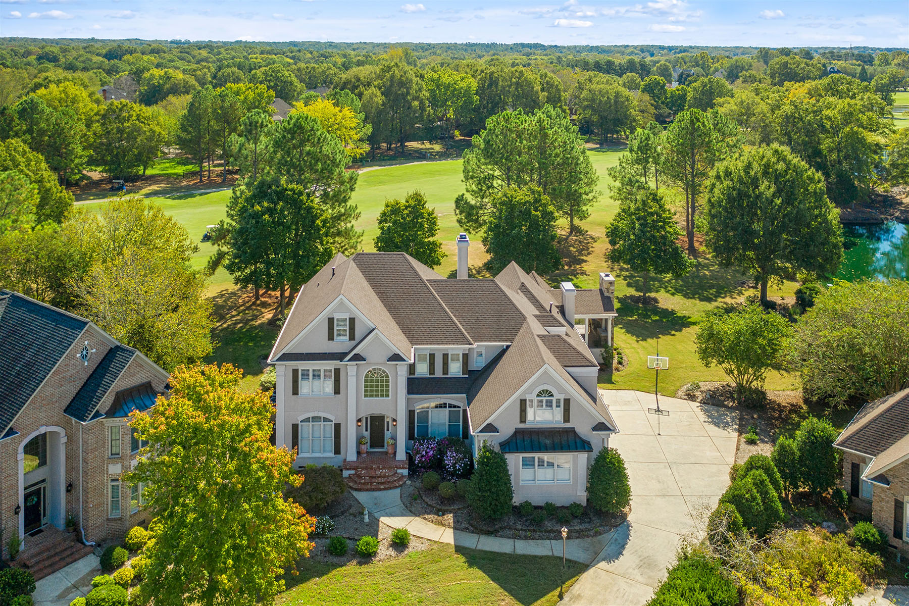 Single Family Homes for Active at PROVIDENCE COUNTRY CLUB 10801 Wicklow Brook Ct Charlotte, North Carolina 28277 United States