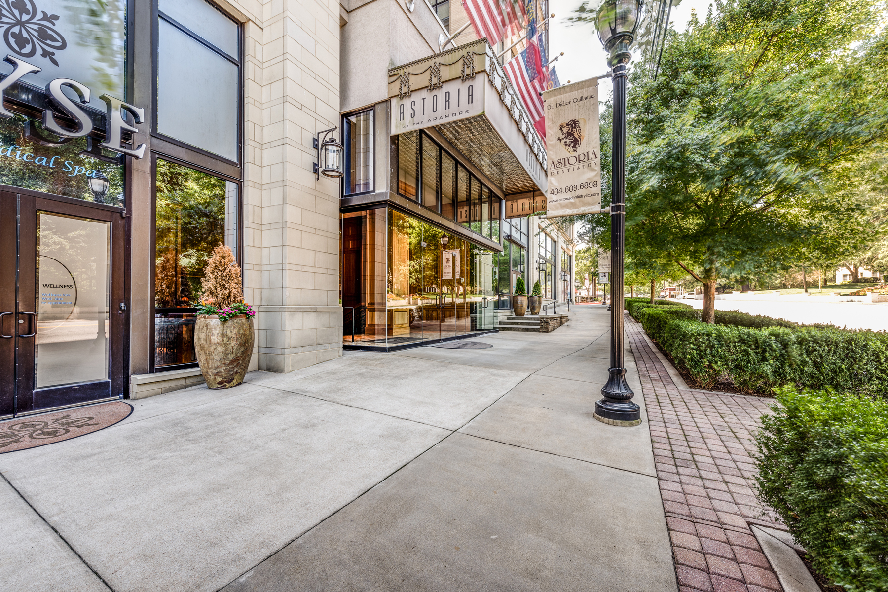 Condominium for Sale at Luxury Condo With Uncompromised Services In Hot Boutique Community 2233 Peachtree Road NE No. 604 Atlanta, Georgia 30309 United States
