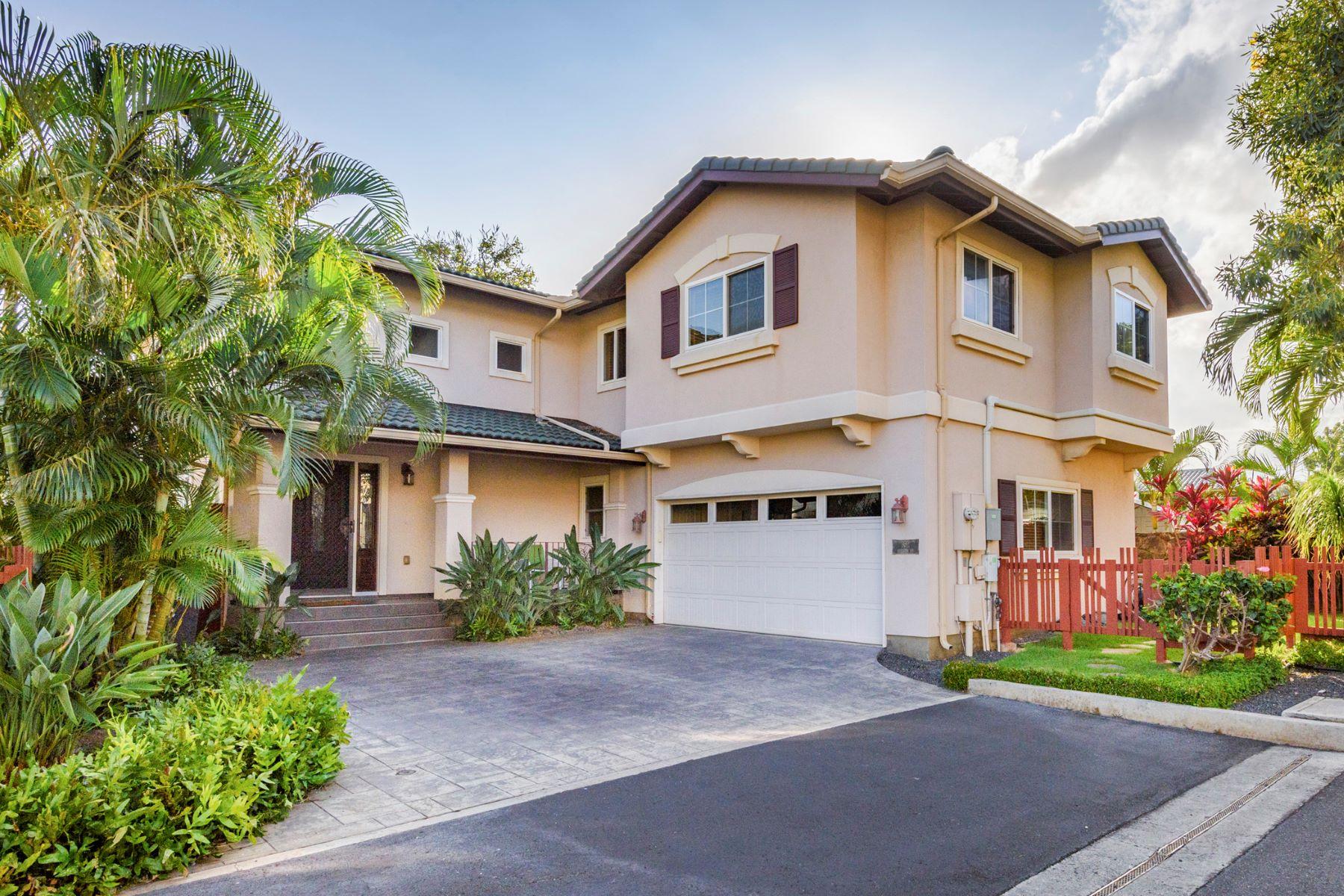Casa Unifamiliar por un Venta en Kuhina at Kahala Executive Home 652 Hunalewa Street Honolulu, Hawaii, 96816 Estados UnidosEn/Alrededor: Kahala