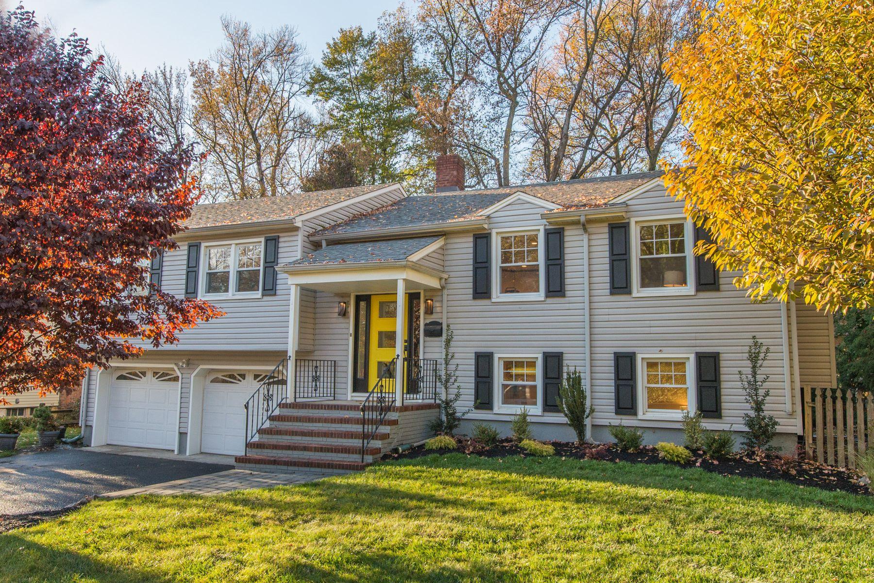 Частный односемейный дом для того Продажа на Mid-Century Modern Home 612 Willow Grove Road, Westfield, Нью-Джерси, 07090 Соединенные Штаты