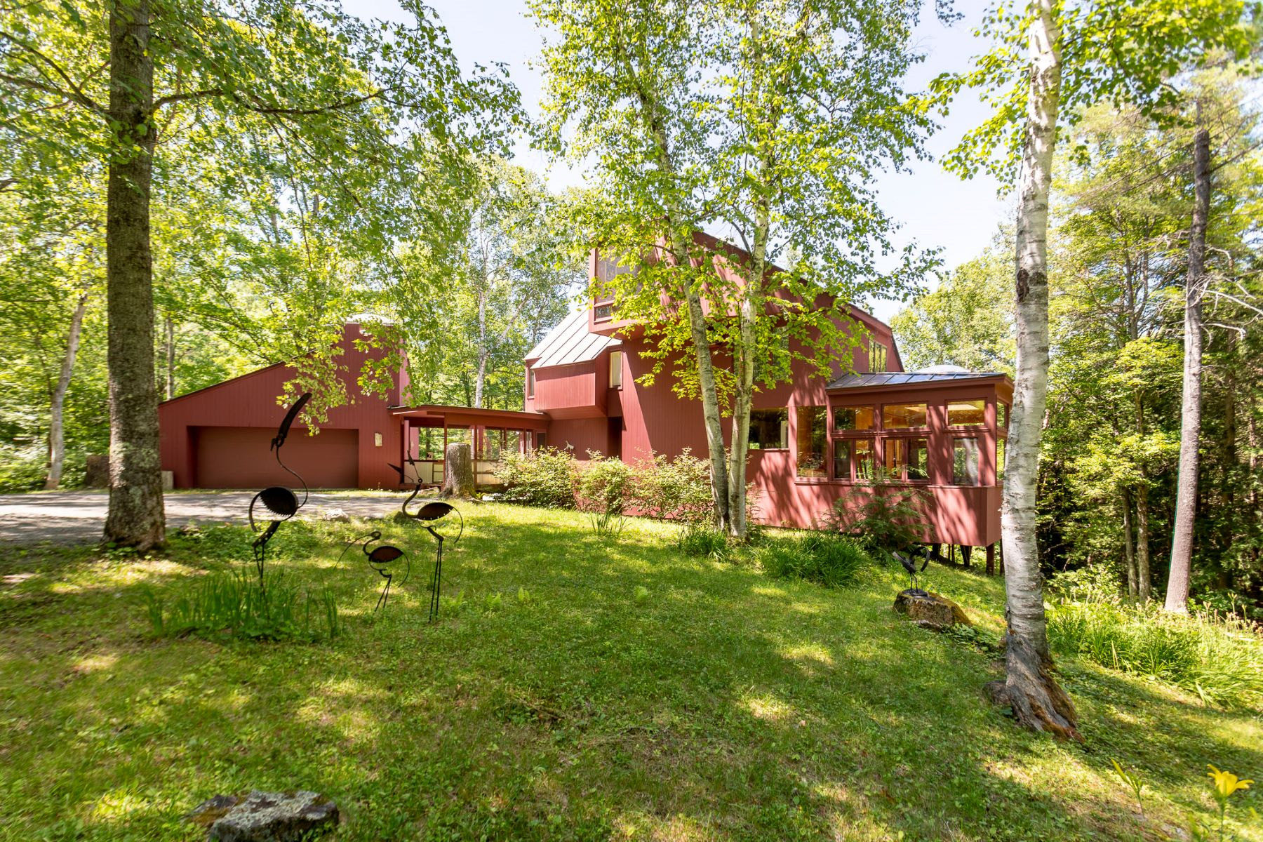 Single Family Homes for Sale at A Don Metz Original 11 Cutting Hill Ln Lyme, New Hampshire 03768 United States