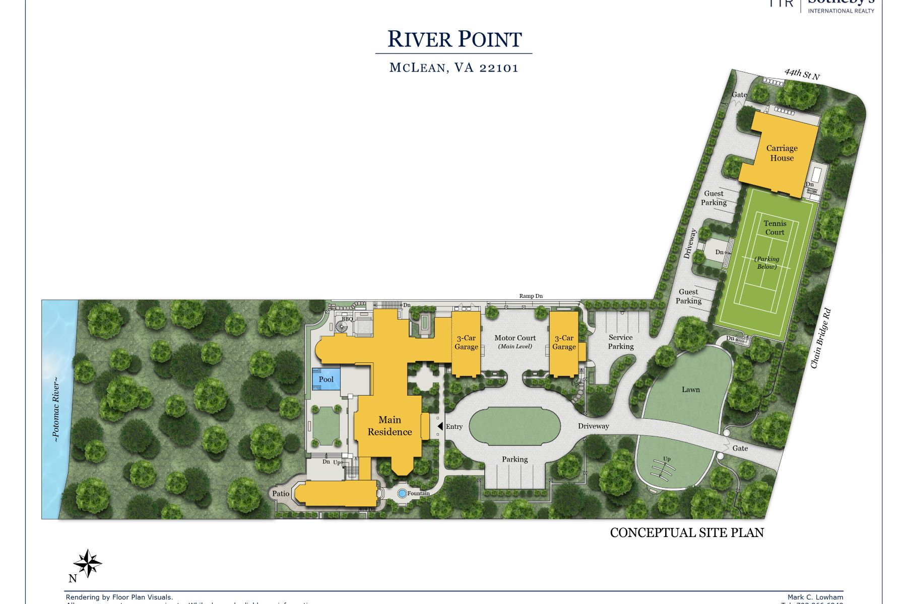 Additional photo for property listing at River Point 405 Chain Bridge Road McLean, Virginia 22101 United States