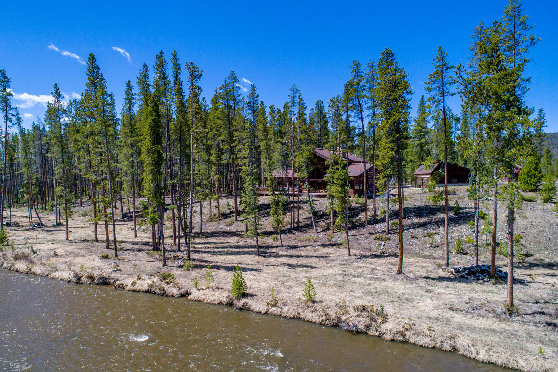 Single Family Home for Active at Amazing and rare opportunity to own an 8.13 acre retreat. 2088 County Road 491 Grand Lake, Colorado 80447 United States