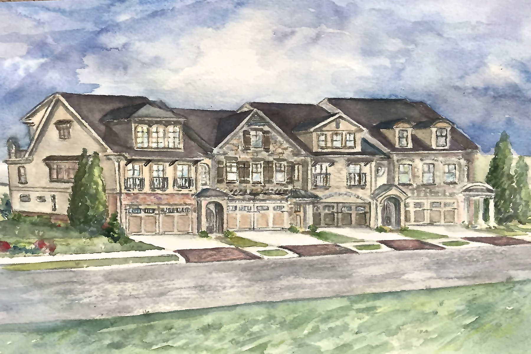 Single Family Home for Sale at Gated Enclave In Woodstock 300 Via del Corso Woodstock, Georgia 30188 United States