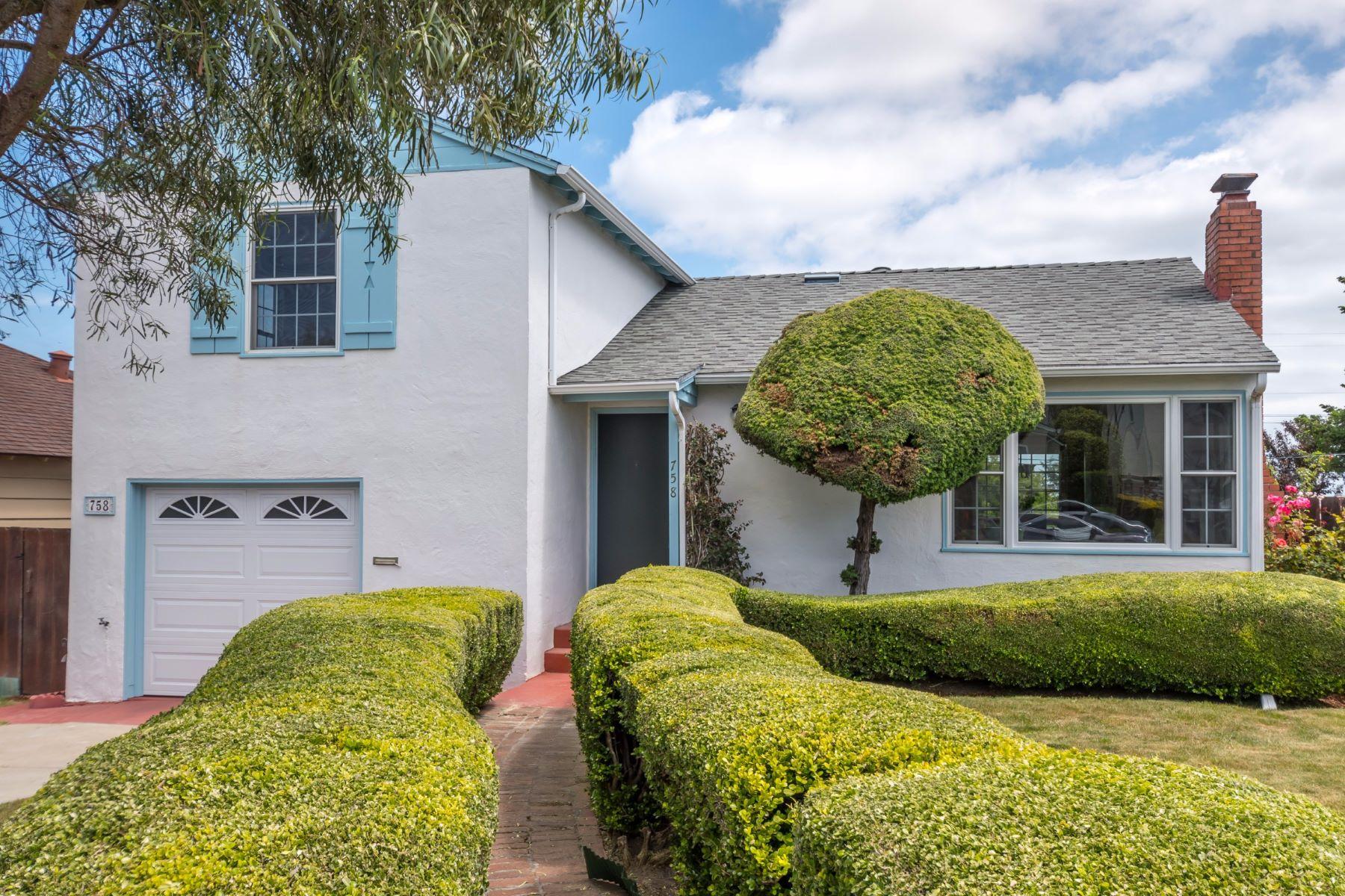 Single Family Home for Sale at 758 Magnolia Avenue San Bruno, California 94066 United States