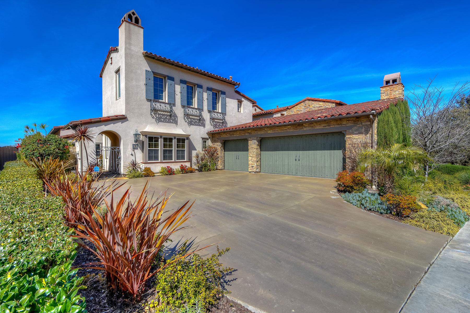 Частный односемейный дом для того Продажа на 53 Hidden Trail Irvine, Калифорния, 92603 Соединенные Штаты