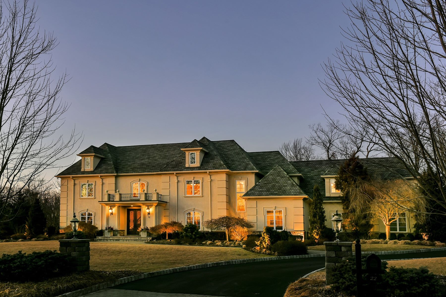House for Sale at Magnificent Masterpiece 22 Trafalgar Drive Livingston, New Jersey 07039 United States