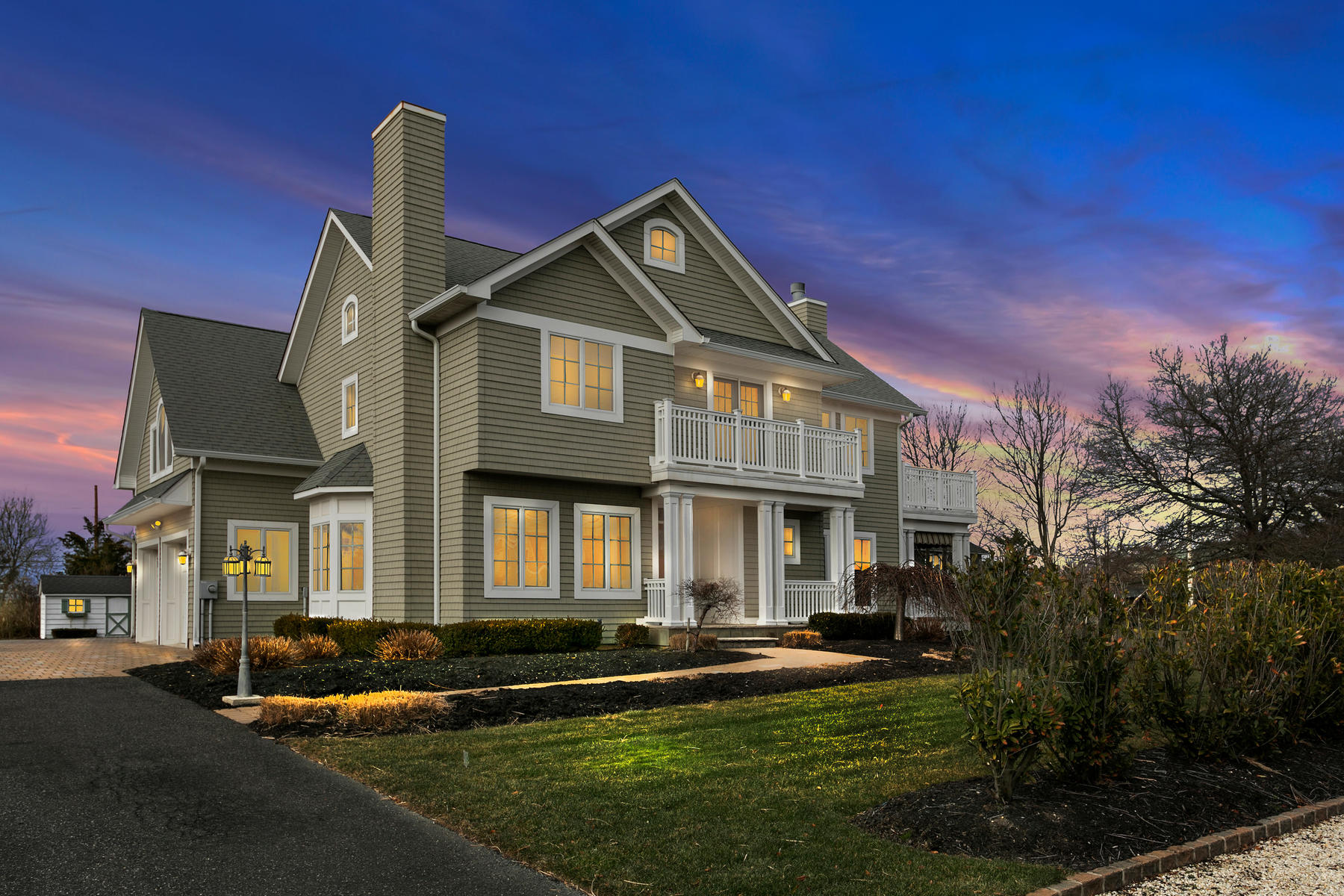 Single Family Home for Sale at Spectacular Luxury Home Situated In The Village Of Bay Head 854 Main Avenue, Bay Head, New Jersey, 08742 United States