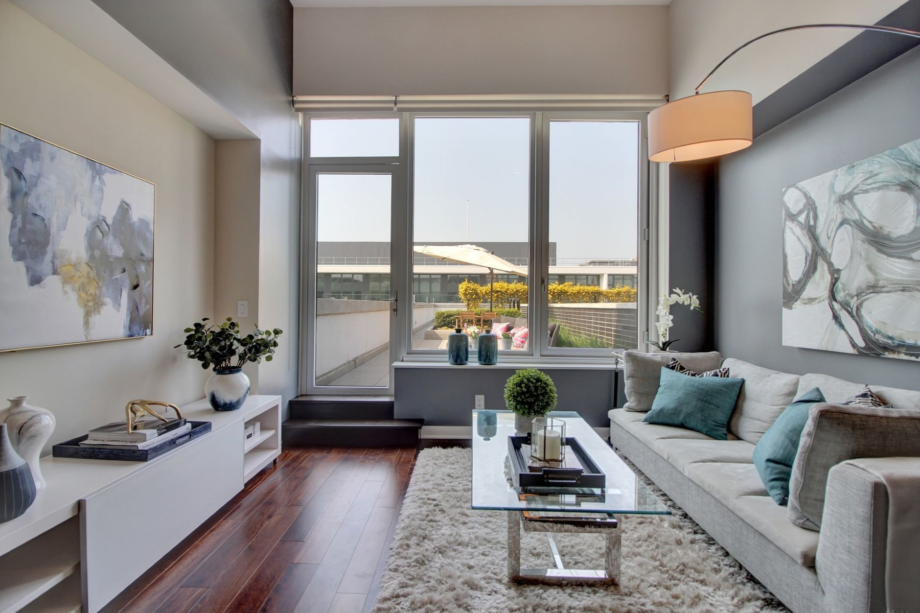 Condominium for Sale at Discover pure luxury in this rare 2 Bedroom / 2 Bathroom penthouse 1000 Ave at Port Imperial #709, Weehawken, New Jersey 07086 United States