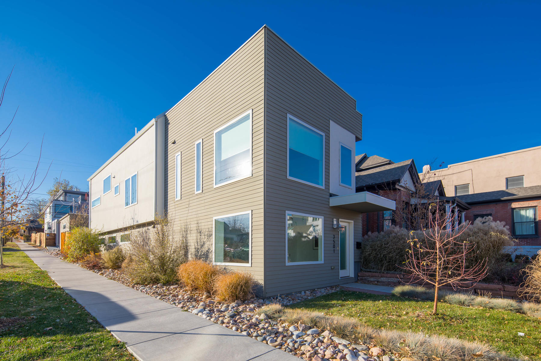 Single Family Home for Active at Incredible detached single-family contemporary home! 3501 Navajo St Denver, Colorado 80211 United States