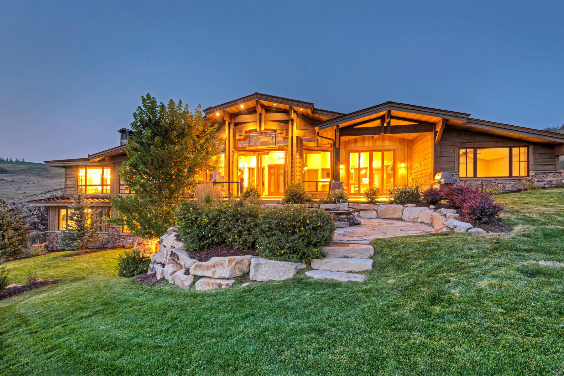 단독 가정 주택 용 매매 에 This is the Wow Home On The Wow Lot In All of Promontory 3347 Pete Dye Draw Park City, 유타, 84098 미국