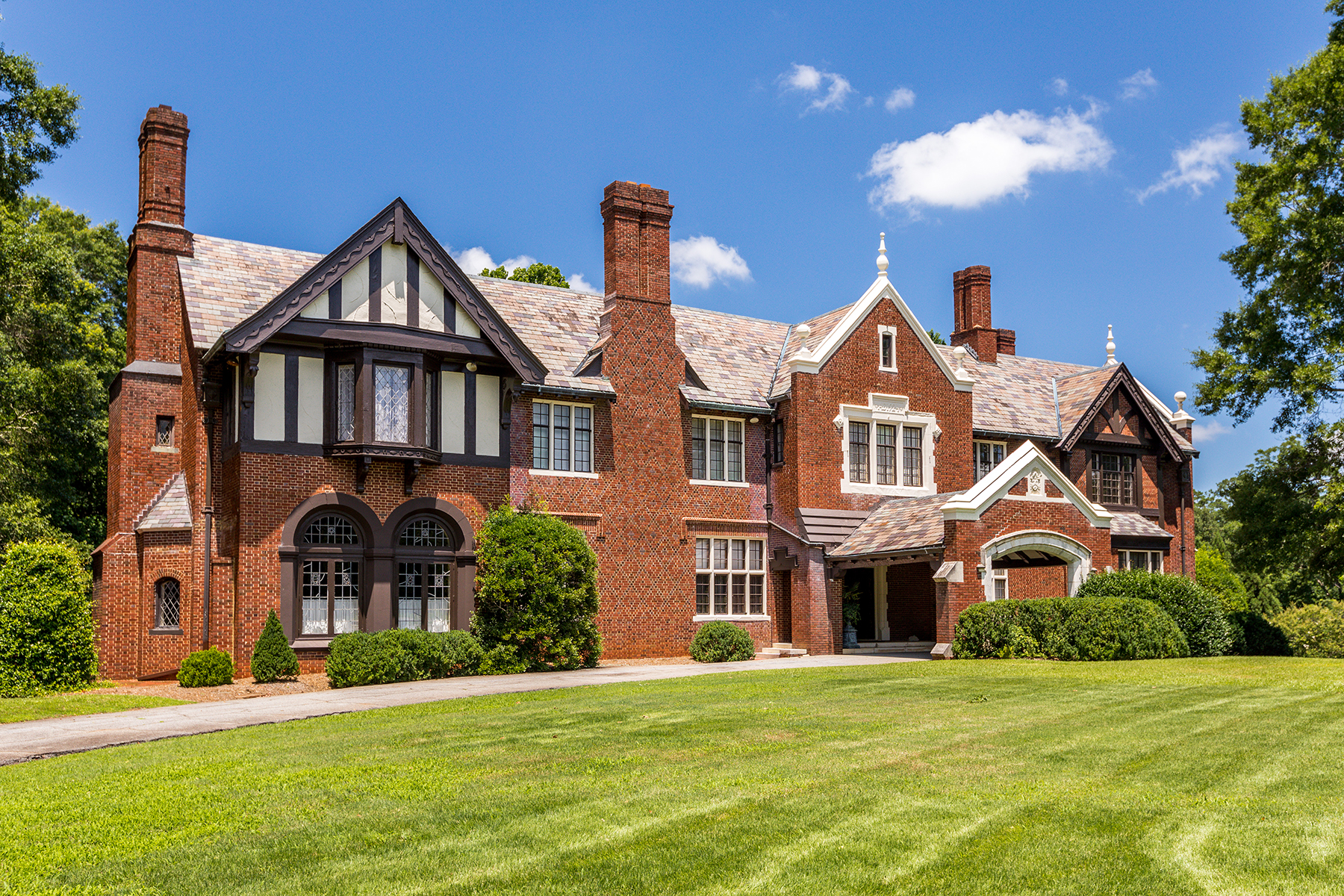 Single Family Home for Sale at Iconic Tudor Mansion 218 Jackson Street Newnan, Georgia 30263 United States