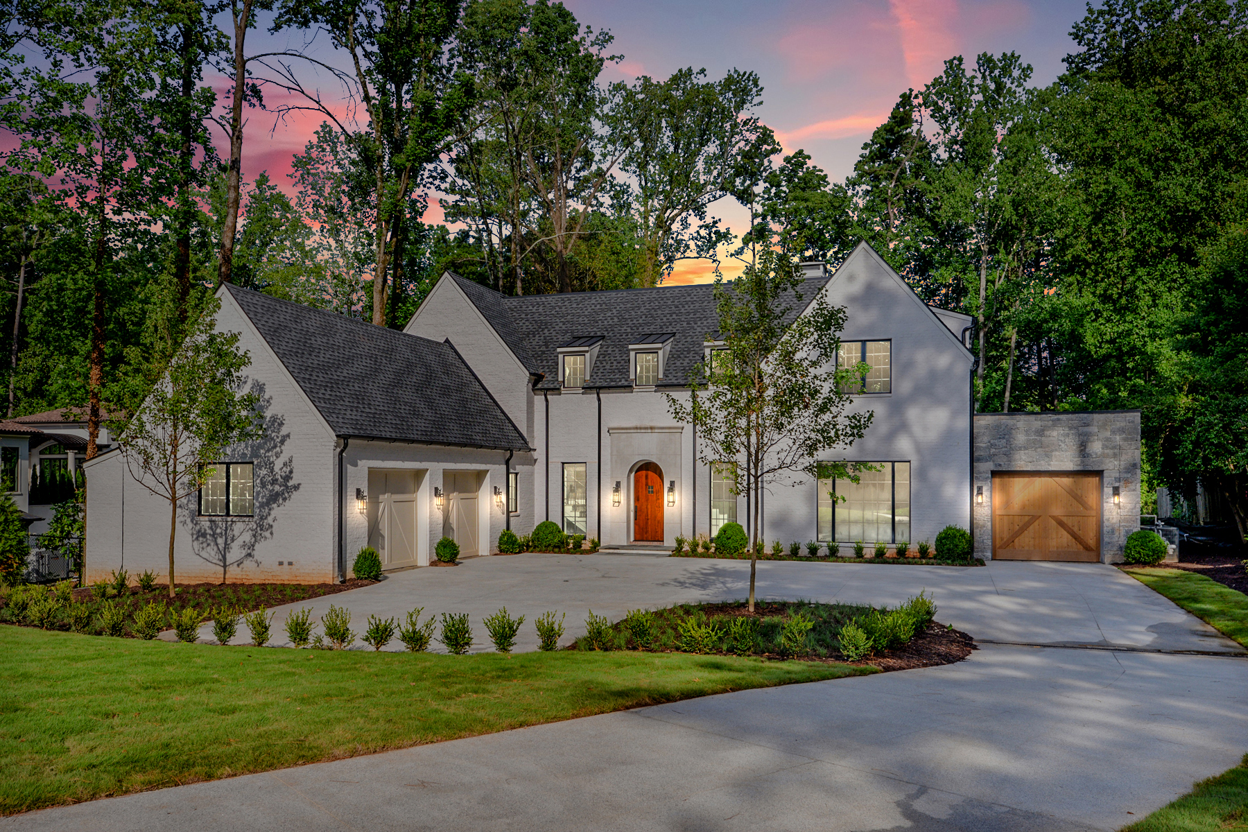 Single Family Homes for Active at Classic Traditional Design With A Contemporary Edge 4560 Peachtree Dunwoody Road NE Sandy Springs, Georgia 30342 United States