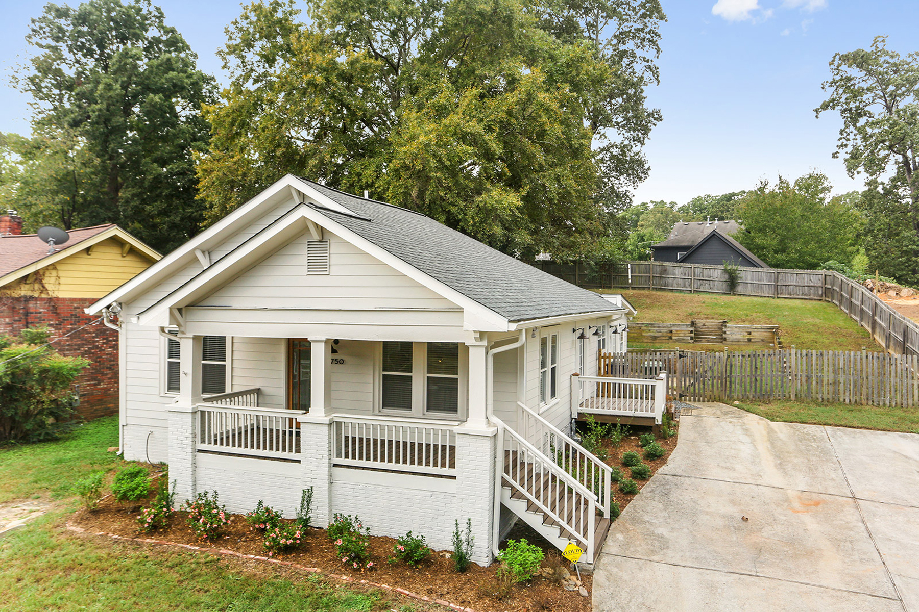Single Family Home for Sale at Charming Westside Bungalow 1750 Marietta Road NW Atlanta, Georgia 30318 United States