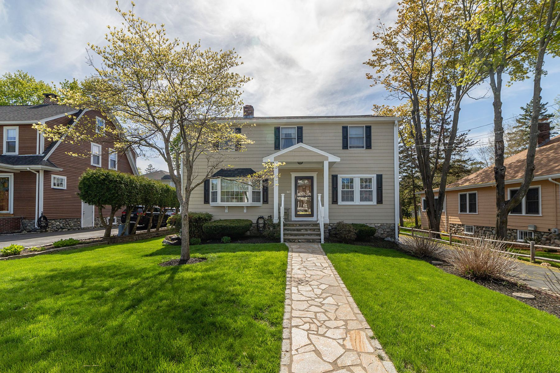Single Family Homes for Active at 66 East St Melrose, Massachusetts 02176 United States