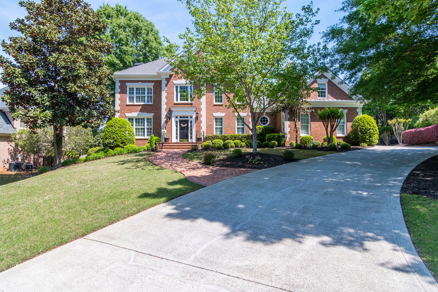 Single Family Homes for Sale at Coveted Property in Nesbit Downs 620 Saddleview Ct Sandy Springs, Georgia 30350 United States