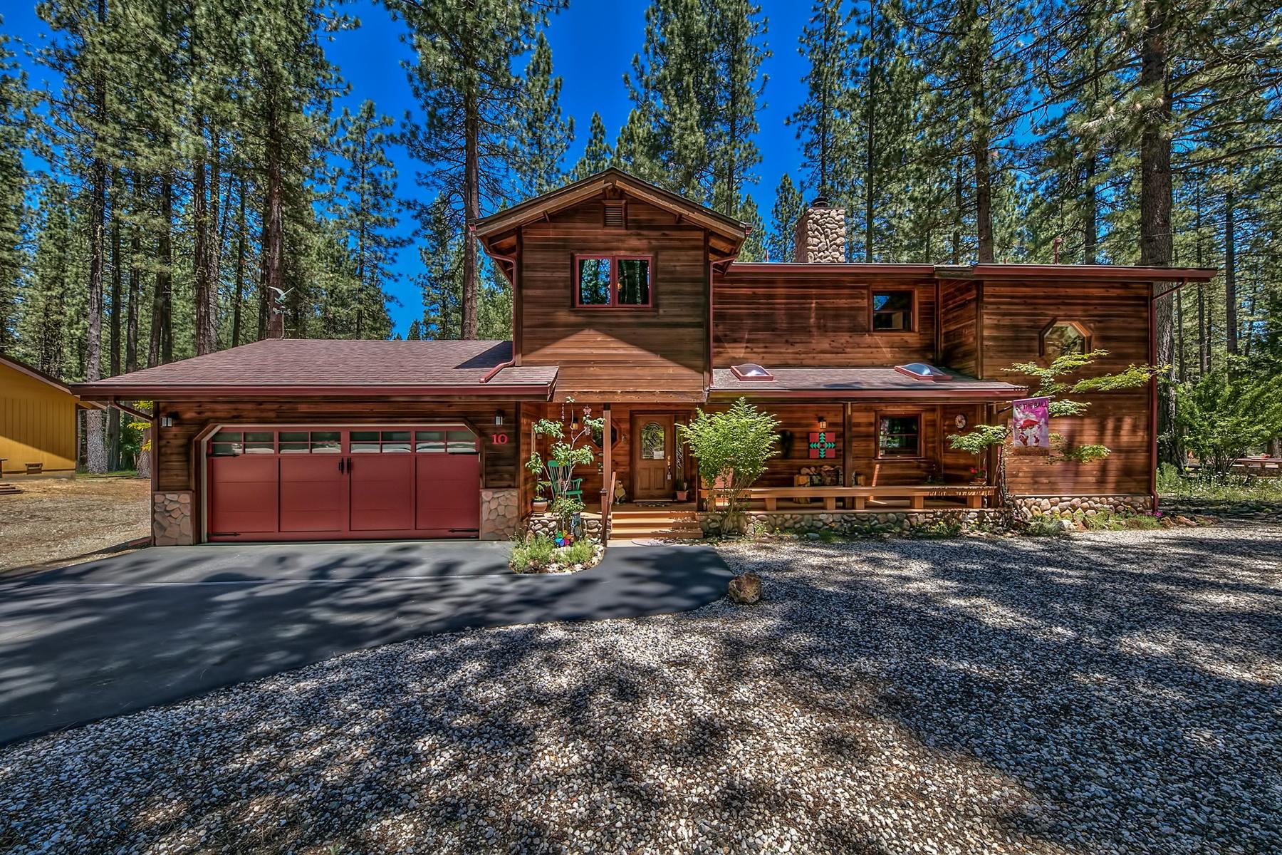 独户住宅 为 销售 在 10 W. Chilula Trail, Graeagle CA, 96103 10 W. Chilula Trail Graeagle, 加利福尼亚州 96103 美国