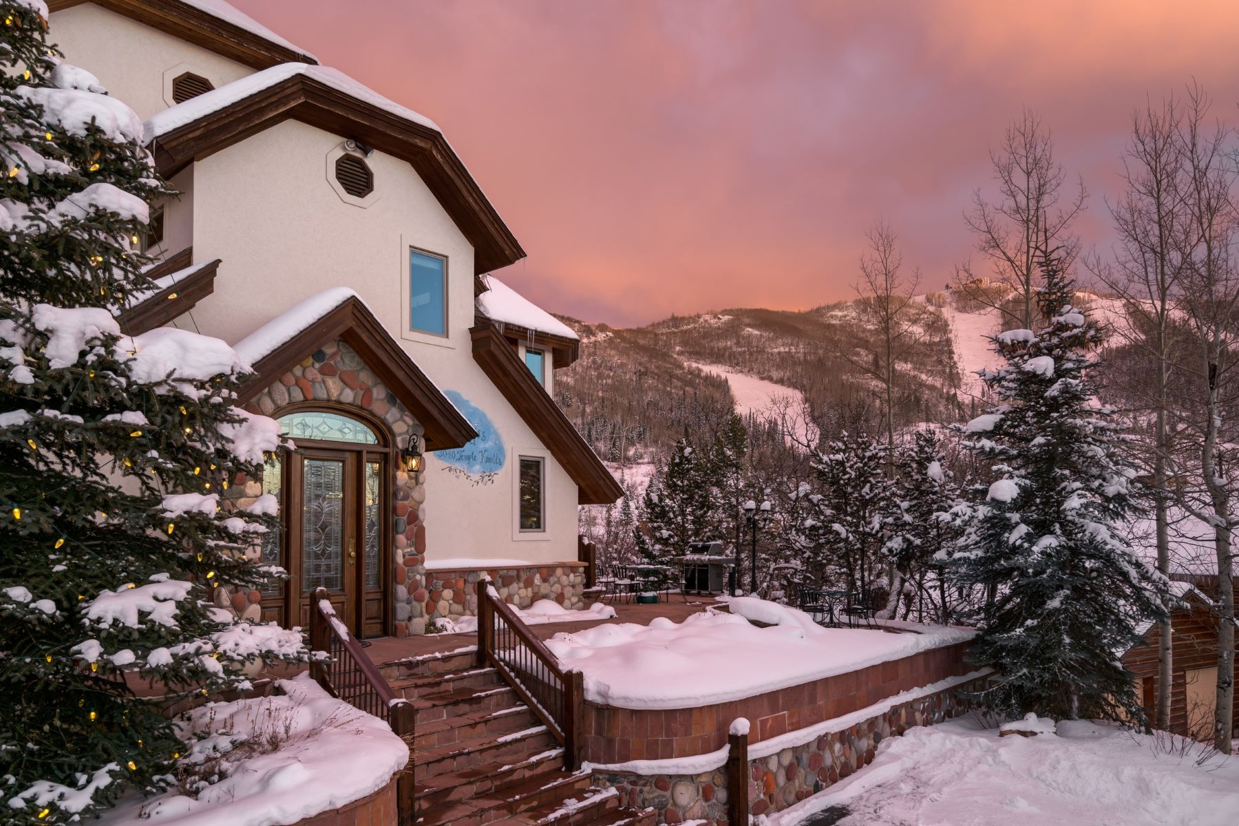 Single Family Home for Sale at Edelweiss Chalet 3040 Temple Knoll Steamboat Springs, Colorado 80487 United States