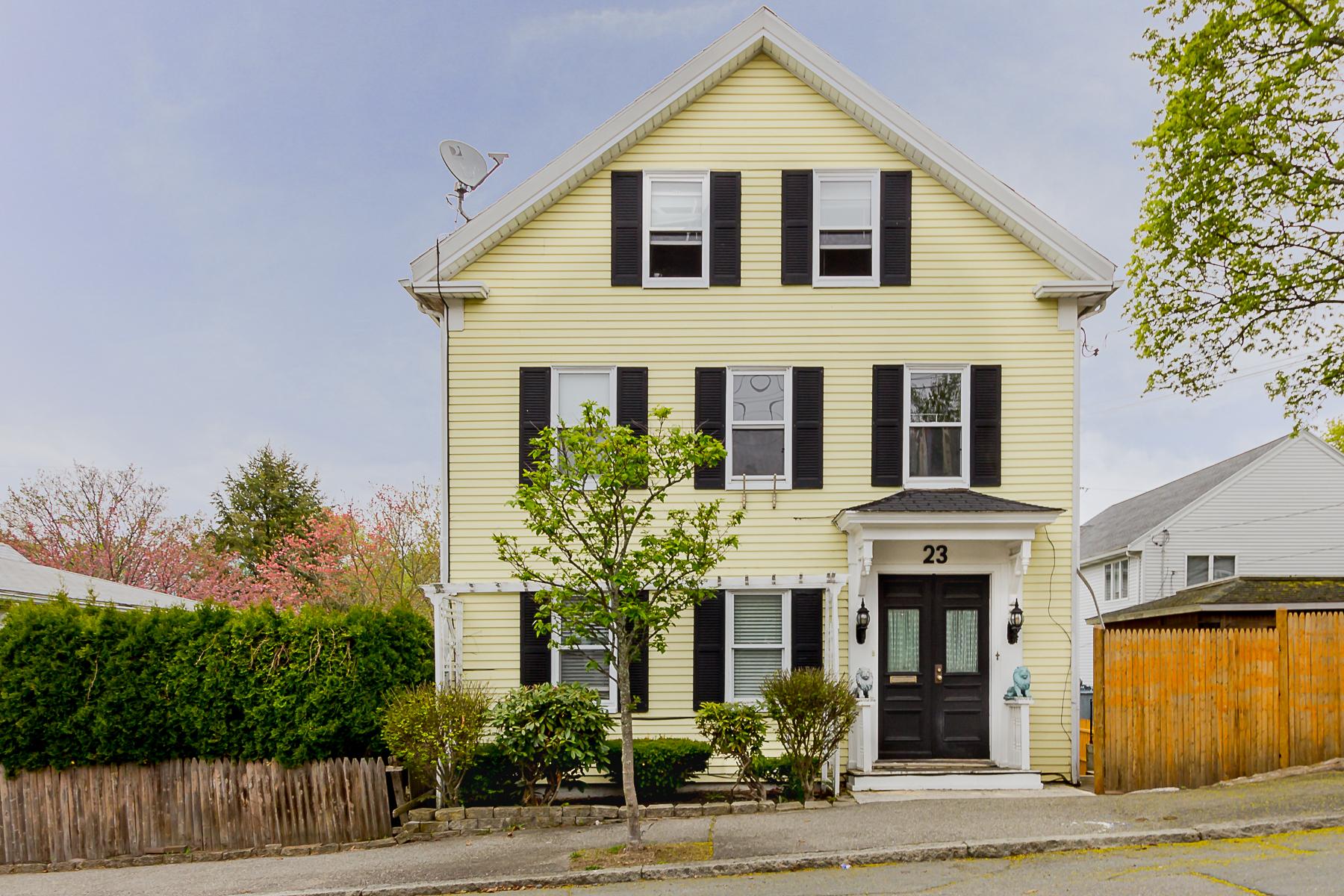 Maison avec plusieurs logements pour l Vente à Well-Maintained 6 Bedroom 4 Bath Two Family Home 23 Wellman Street Beverly, Massachusetts, 01915 États-Unis