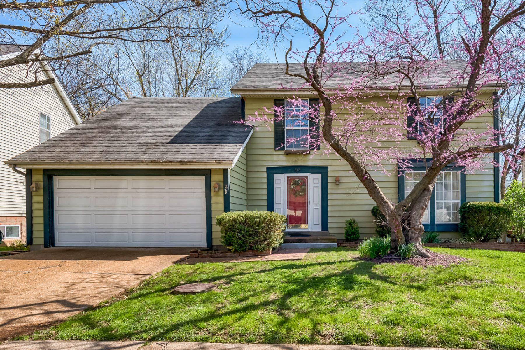 独户住宅 为 销售 在 Weatherwood 818 Weatherwood Drive 鲍尔温, 密苏里州, 63021 美国