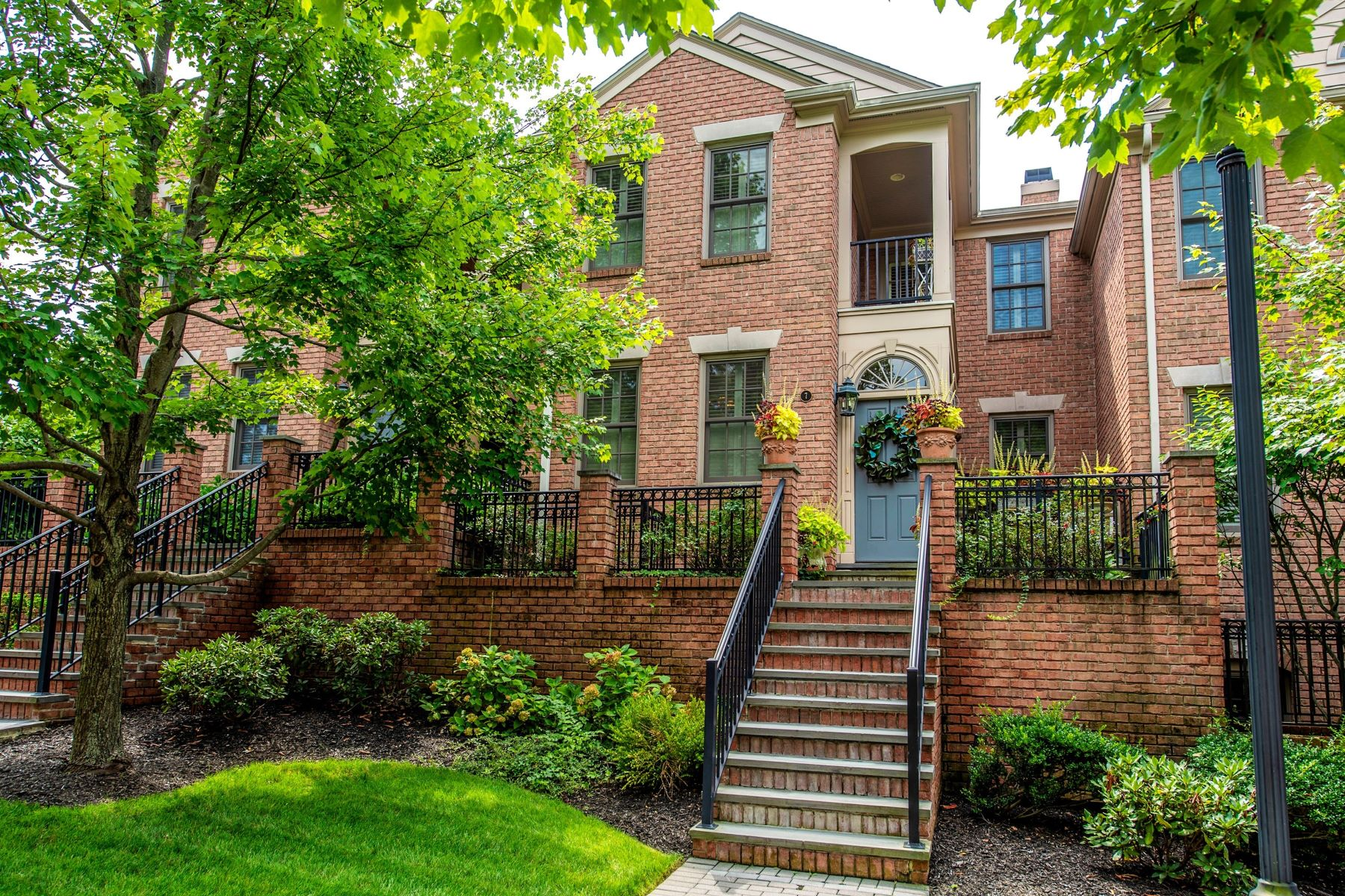 Townhouse for Sale at Luxury Townhouse 25 Norwood Avenue, Unit 7, Summit, New Jersey 07901 United States