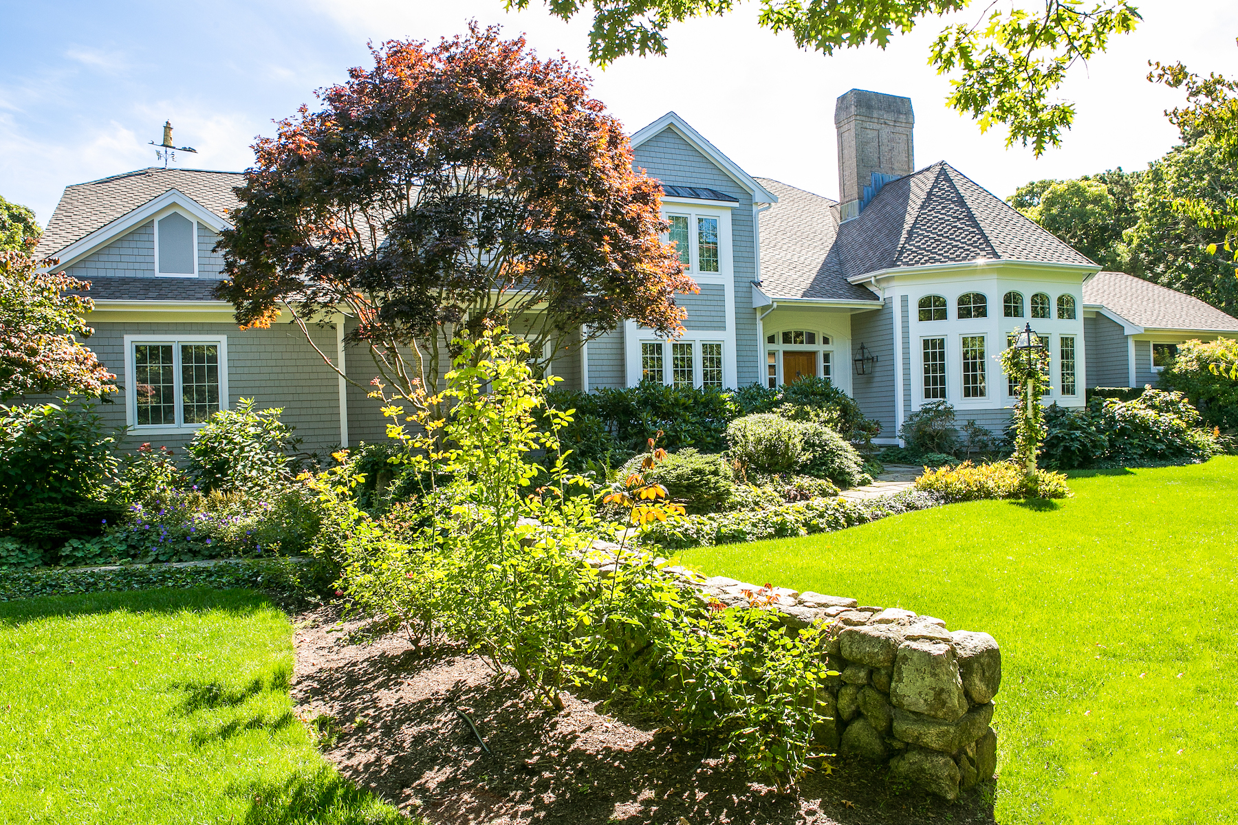 Single Family Home for Active at Stunning Coastal Home with Deepwater Dock 37 Witchwood Lane Edgartown, Massachusetts 02539 United States
