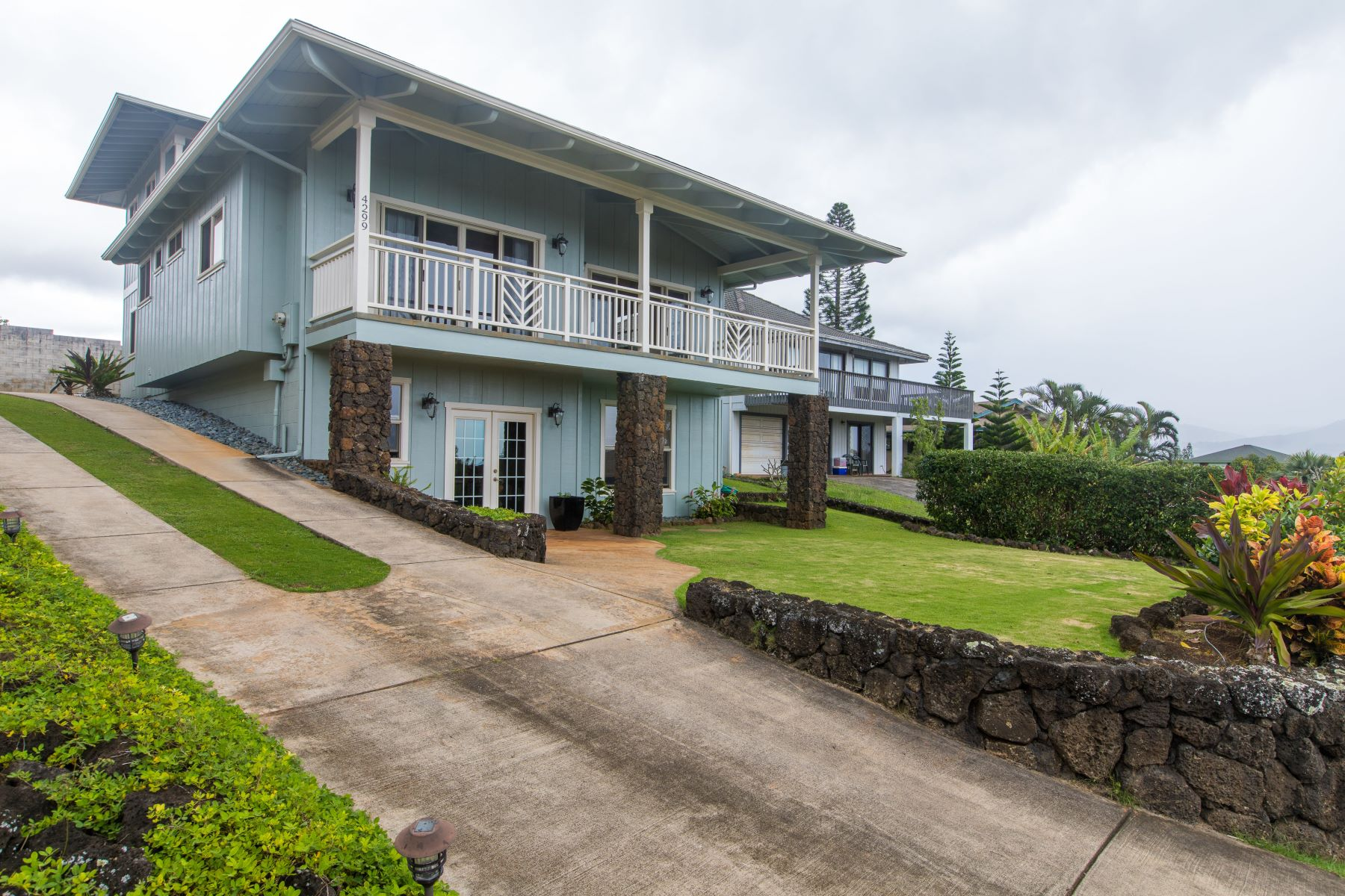 一戸建て のために 売買 アット Stunning Custom 4 Bedroom, 3 Bath Home Near Top of Beautiful Kai Ikena Hillside 4299 Kai Ikena Drive Kalaheo, ハワイ 96741 アメリカ合衆国