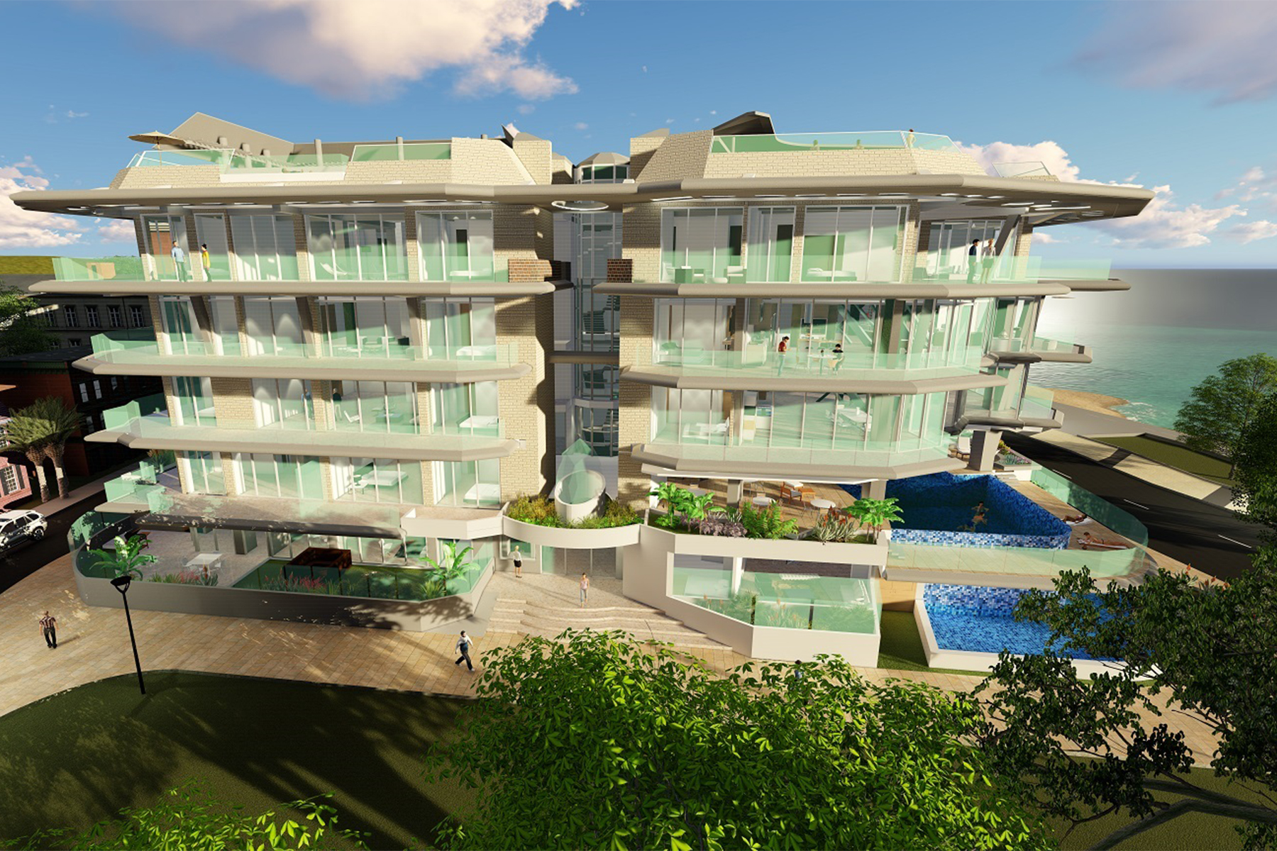 Additional photo for property listing at Coral Shell 3 bedroom Luxury unit Oranjestad, 阿鲁巴 阿鲁巴岛