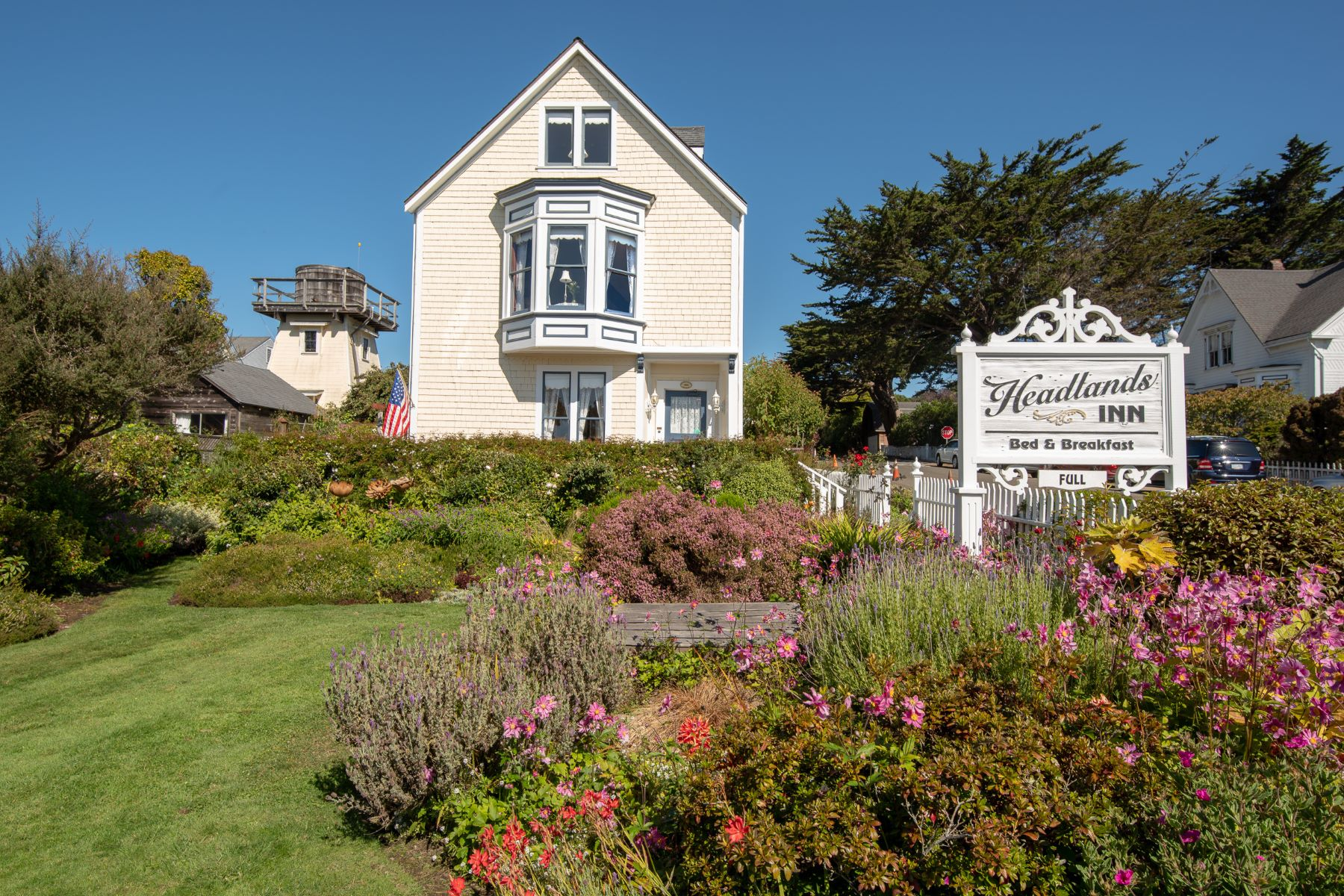 for Sale at Headlands Inn 10453 Howard Street Mendocino, California 95460 United States