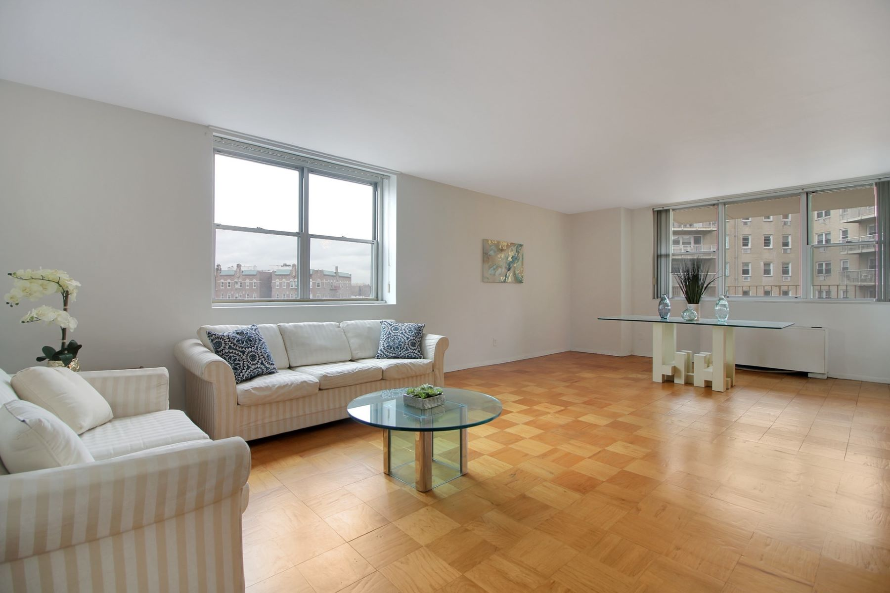 Co-op for Sale at One Bed One Bath located at the Prestigious Riviera Towers 6040 BLVD East #3H, West New York, New Jersey 07093 United States