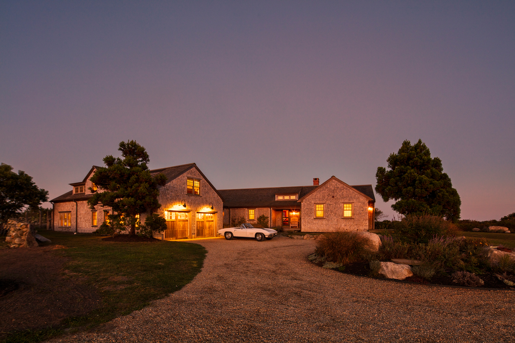 Single Family Home for Active at Elegant property in Chilmark 18 Spruce Gate Road Chilmark, Massachusetts 02535 United States