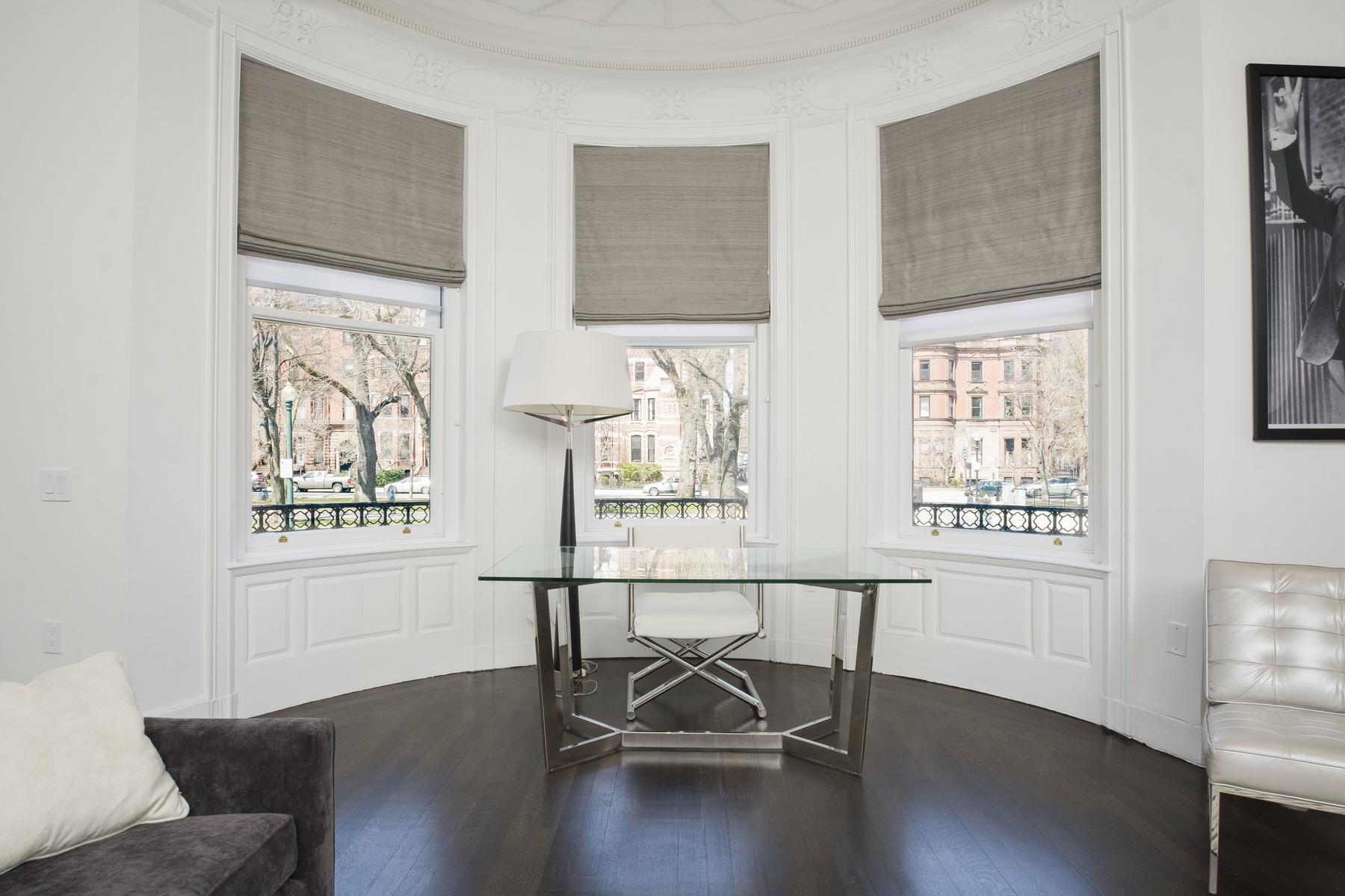 共管式独立产权公寓 为 销售 在 Elegantly Restored Duplex in Back Bay 29 Fairfield Street - Unit 1A 波士顿, 马萨诸塞州 02116 美国
