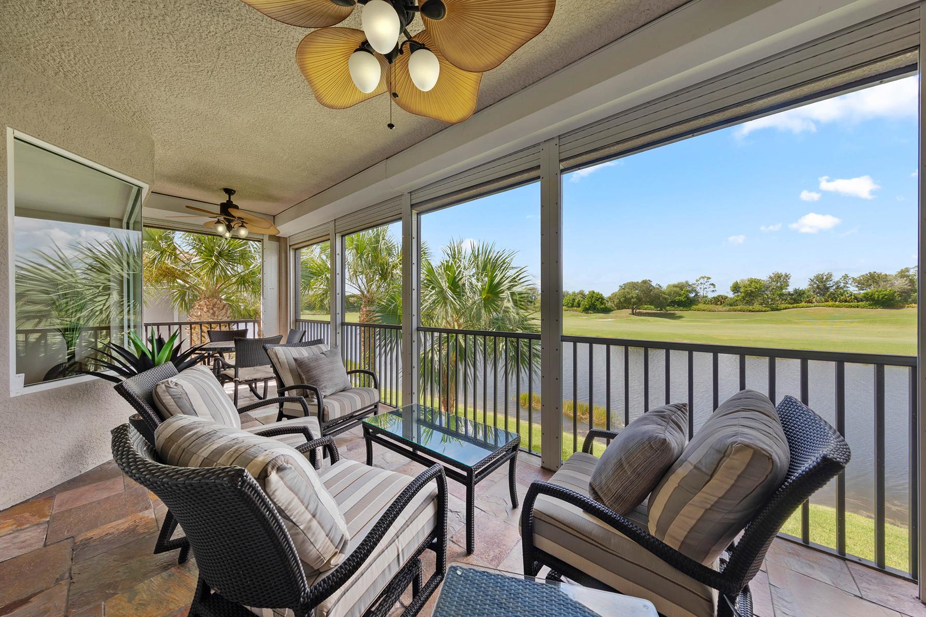 Condominiums por un Venta en RENAISSANCE - TRIANA 9311 Triana Terrace , 93, Fort Myers, Florida 33912 Estados Unidos