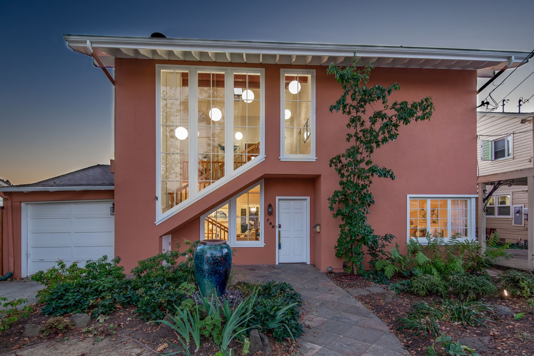 Single Family Homes for Sale at Contemporary With Bay Views 780 Creston Road Berkeley, California 94708 United States