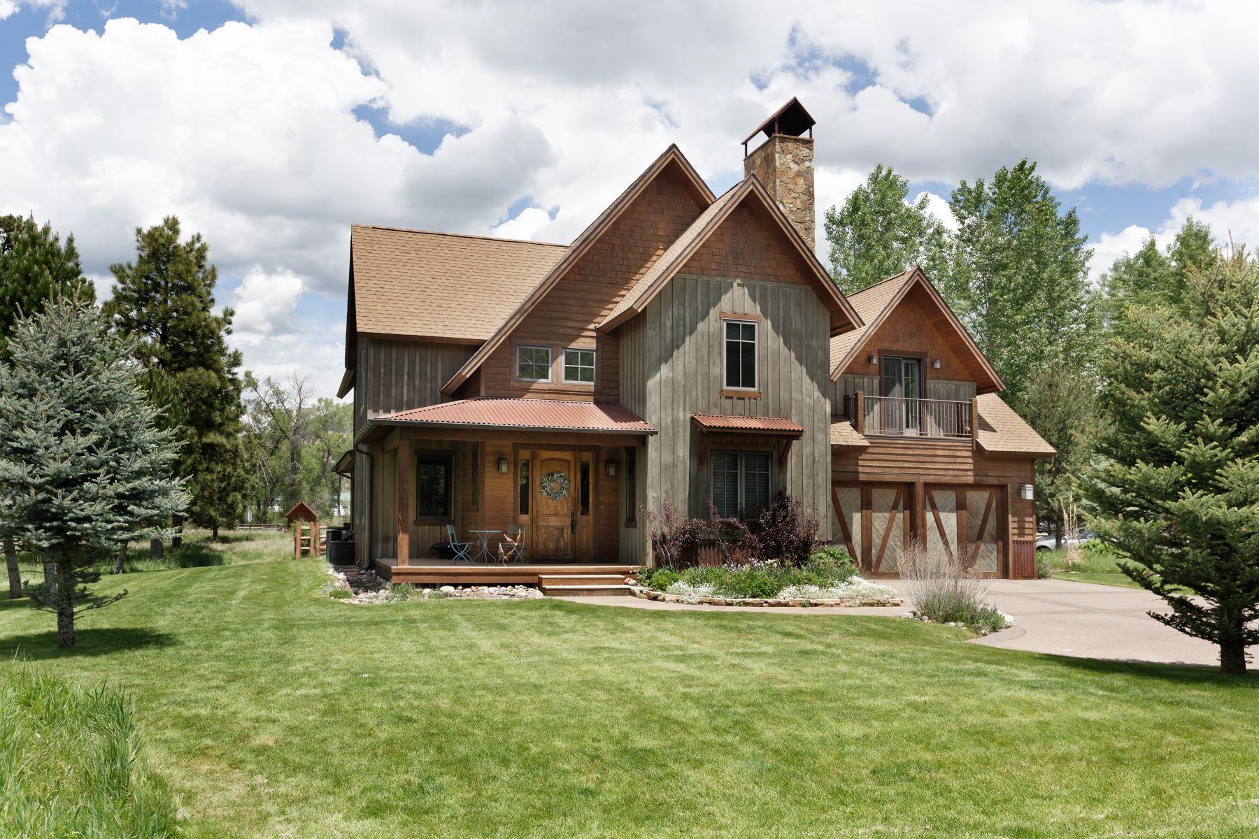 Einfamilienhaus für Verkauf beim Blue Creek Ranch 41 Choke Cherry Court Carbondale, Colorado, 81623 Vereinigte Staaten