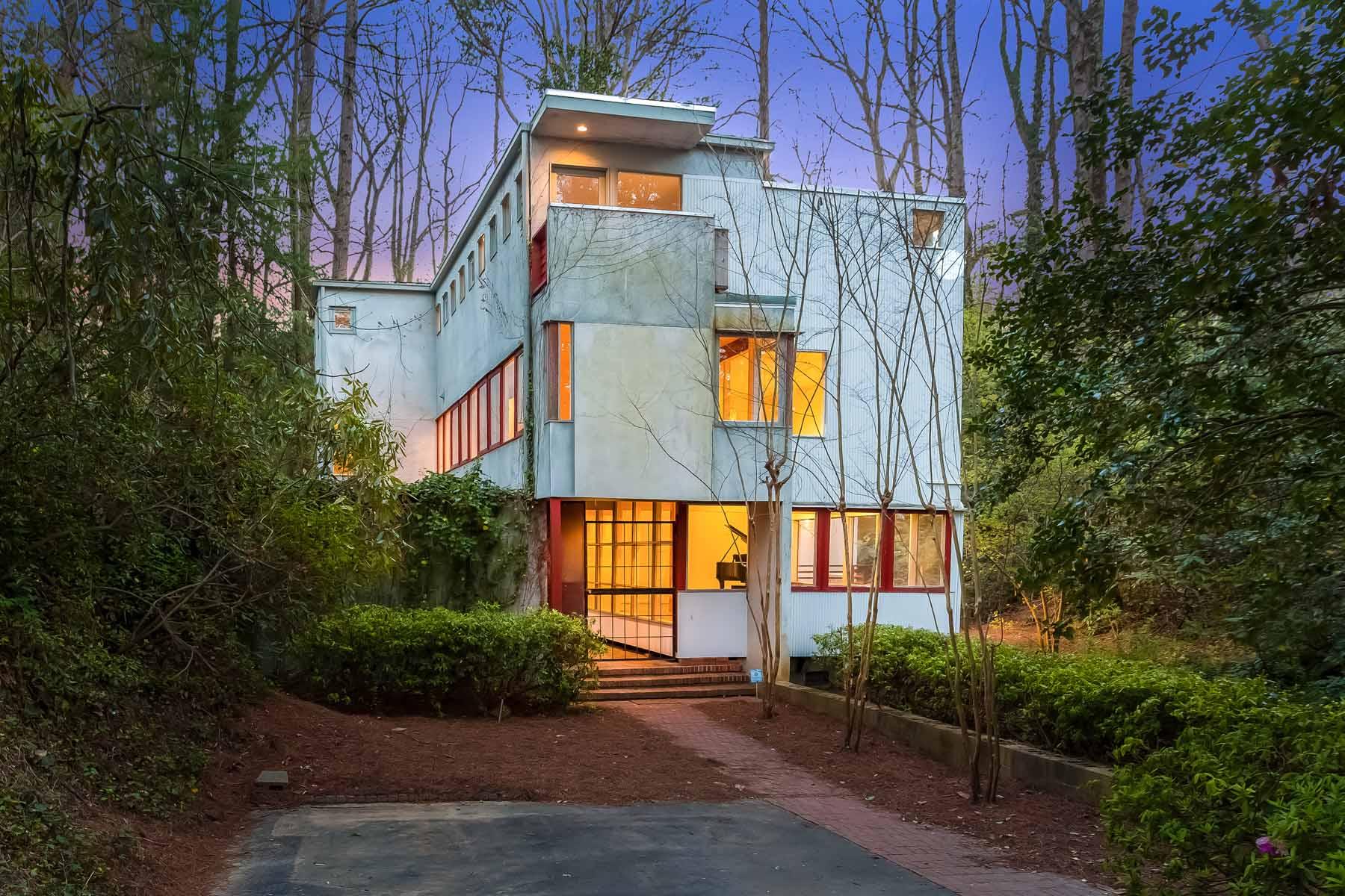 Casa Unifamiliar por un Venta en Architecturally Significant Buckhead Community 2154 Monterey Dr Springlake, Atlanta, Georgia, 30318 Estados Unidos