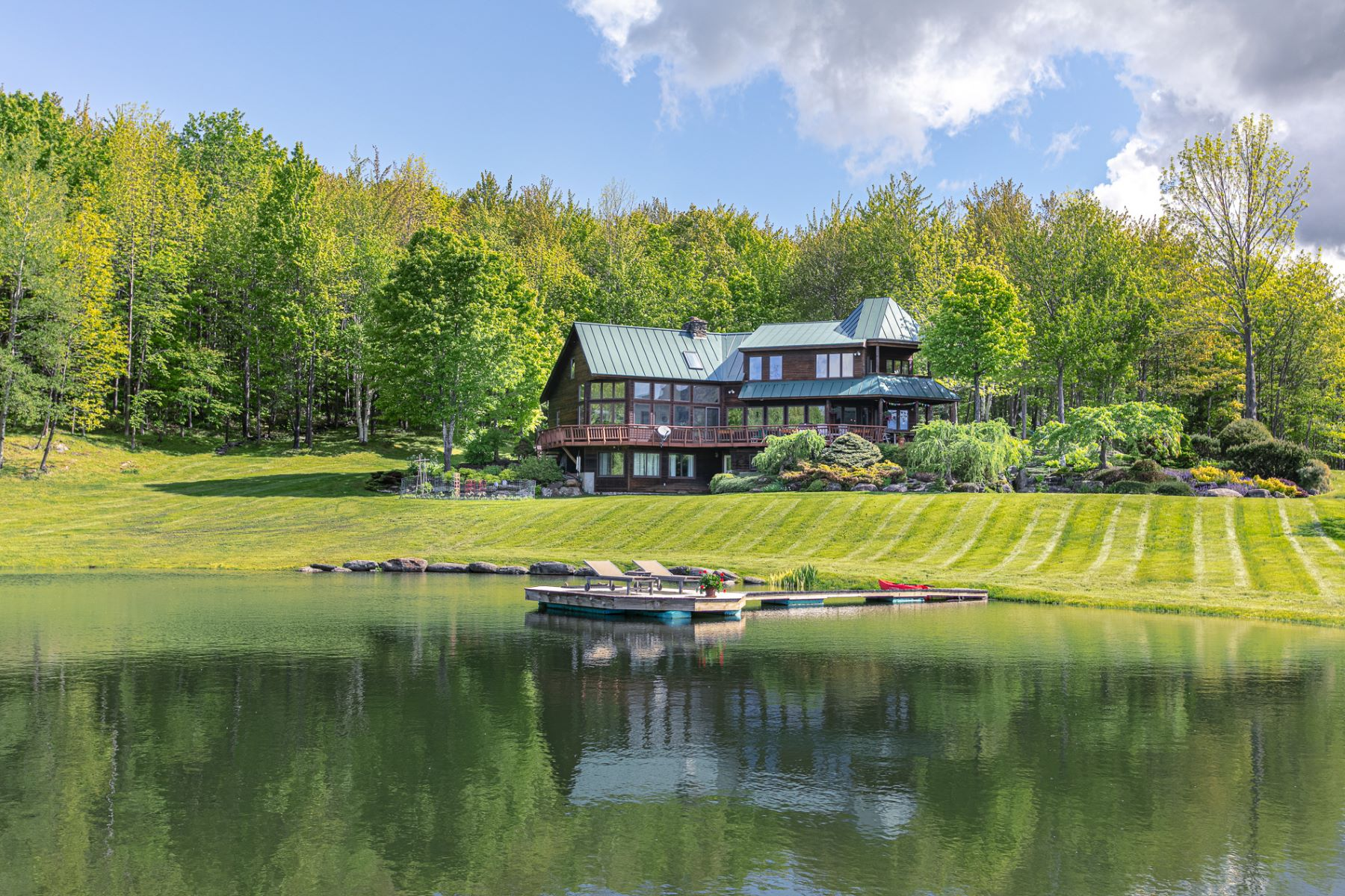 Single Family Homes for Sale at 3924 Stowe Hollow Road, Stowe 3924 Stowe Hollow Rd Stowe, Vermont 05672 United States
