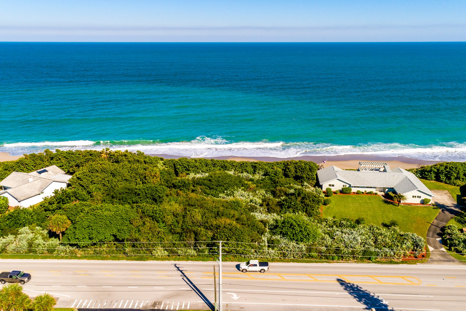 Land for Sale at Superior Oceanfront Property Featuring 125' of Waterfront 3765 Highway A1A Melbourne Beach, Florida 32951 United States