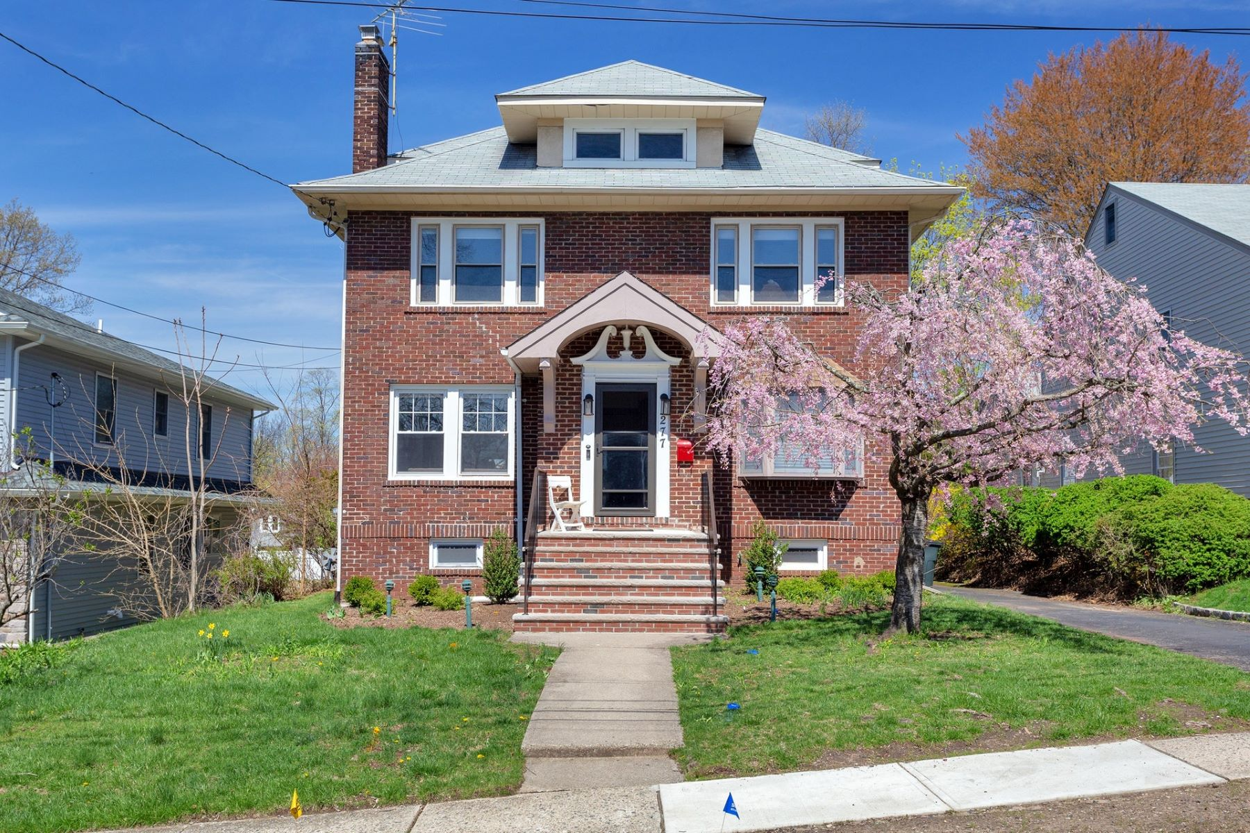 Single Family Homes for Sale at Center Hall Colonial 277 Merrison Street, Teaneck, New Jersey 07666 United States