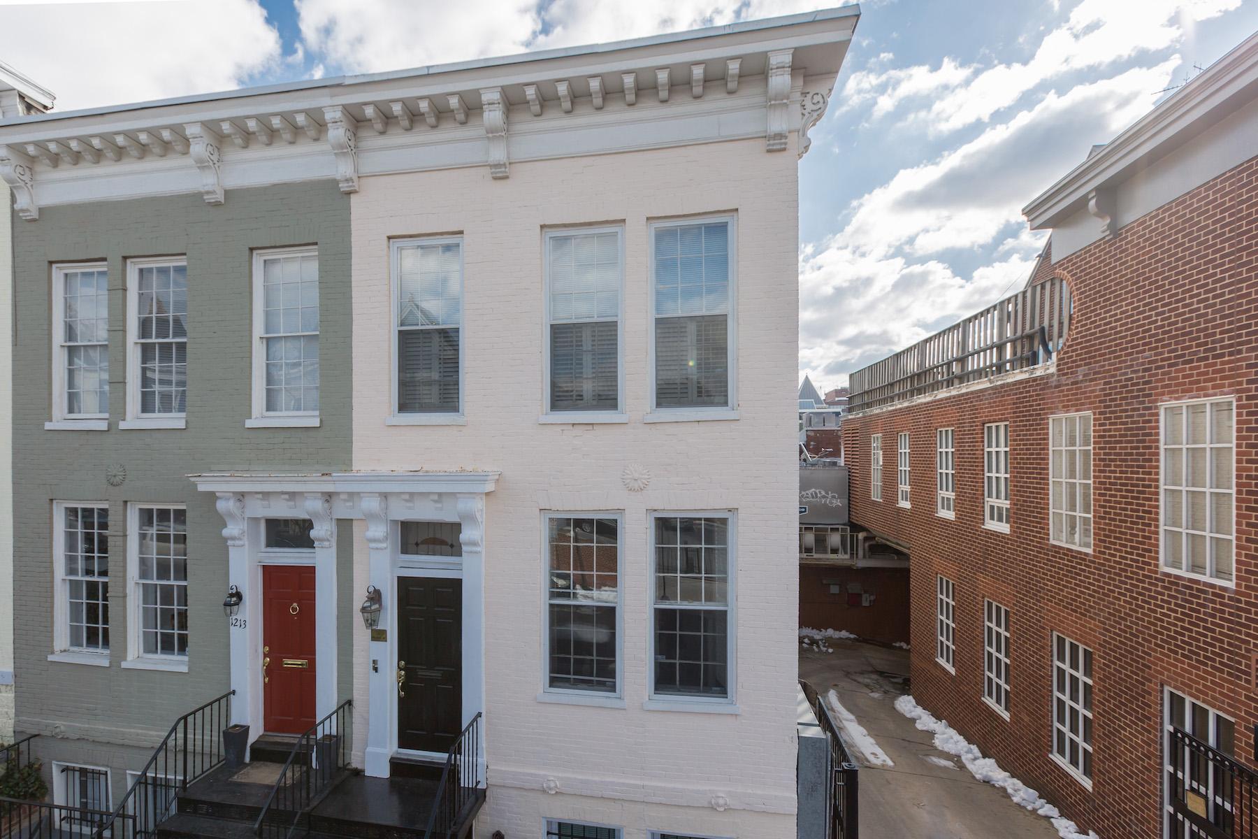 Apartamentos multi-familiares para Venda às Georgetown 1211 29th Street Nw Georgetown, Washington, Distrito De Columbia, 20007 Estados Unidos