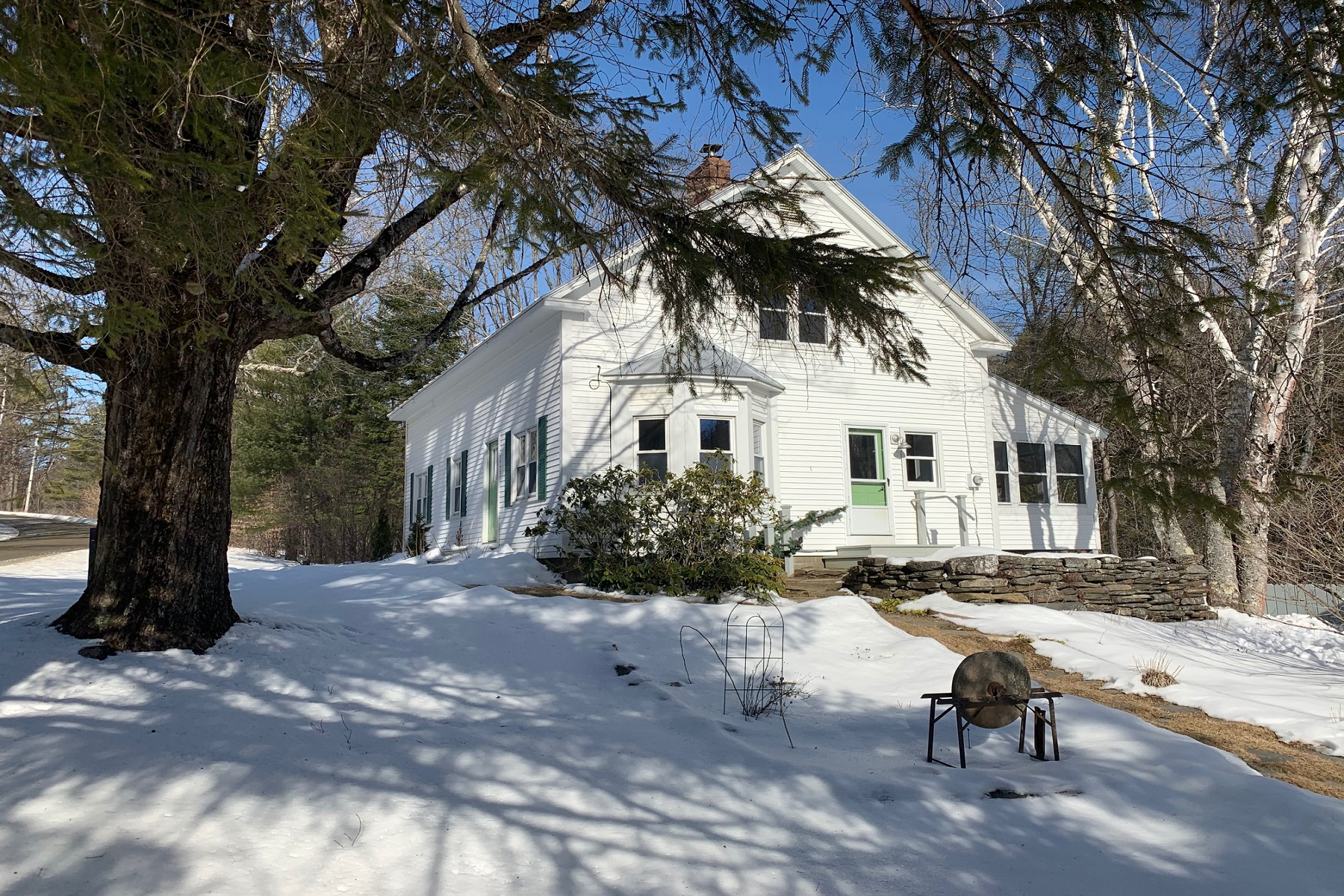 Property for Sale at Totally Restored 1940 Farmhouse 2620 Rush Meadow Road West Windsor, Vermont 05037 United States